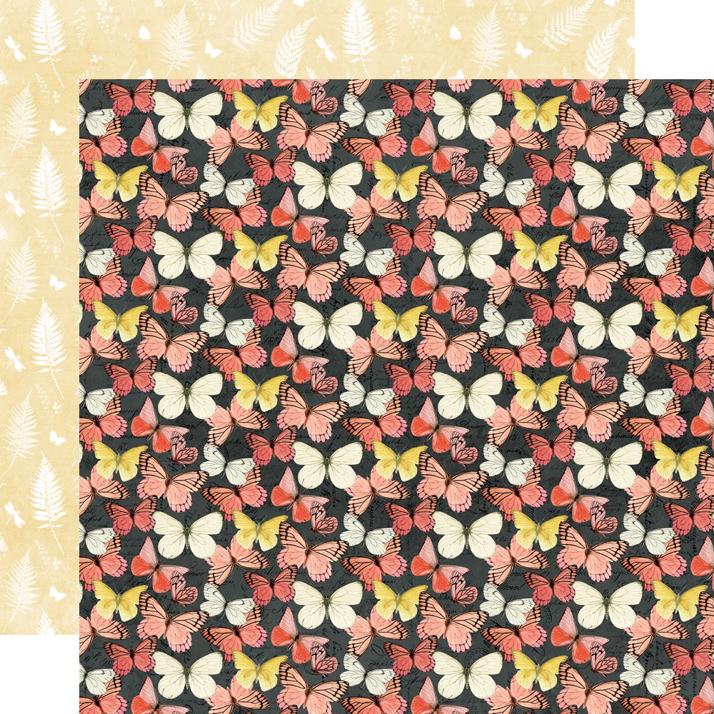 Simple Vintage Cottage Fields Double-Sided Cardstock 12X12-Live for Today