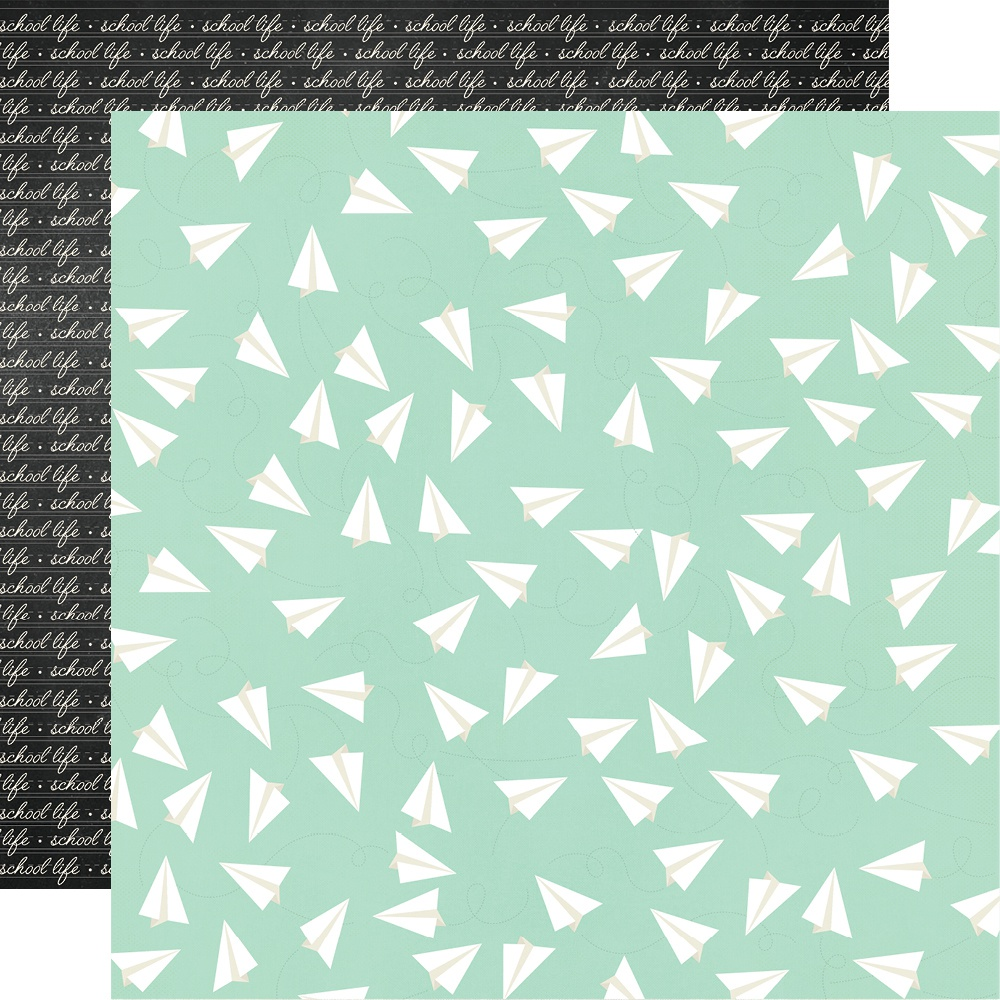 School Life Double-Sided Cardstock 12X12-Honor Rollin'