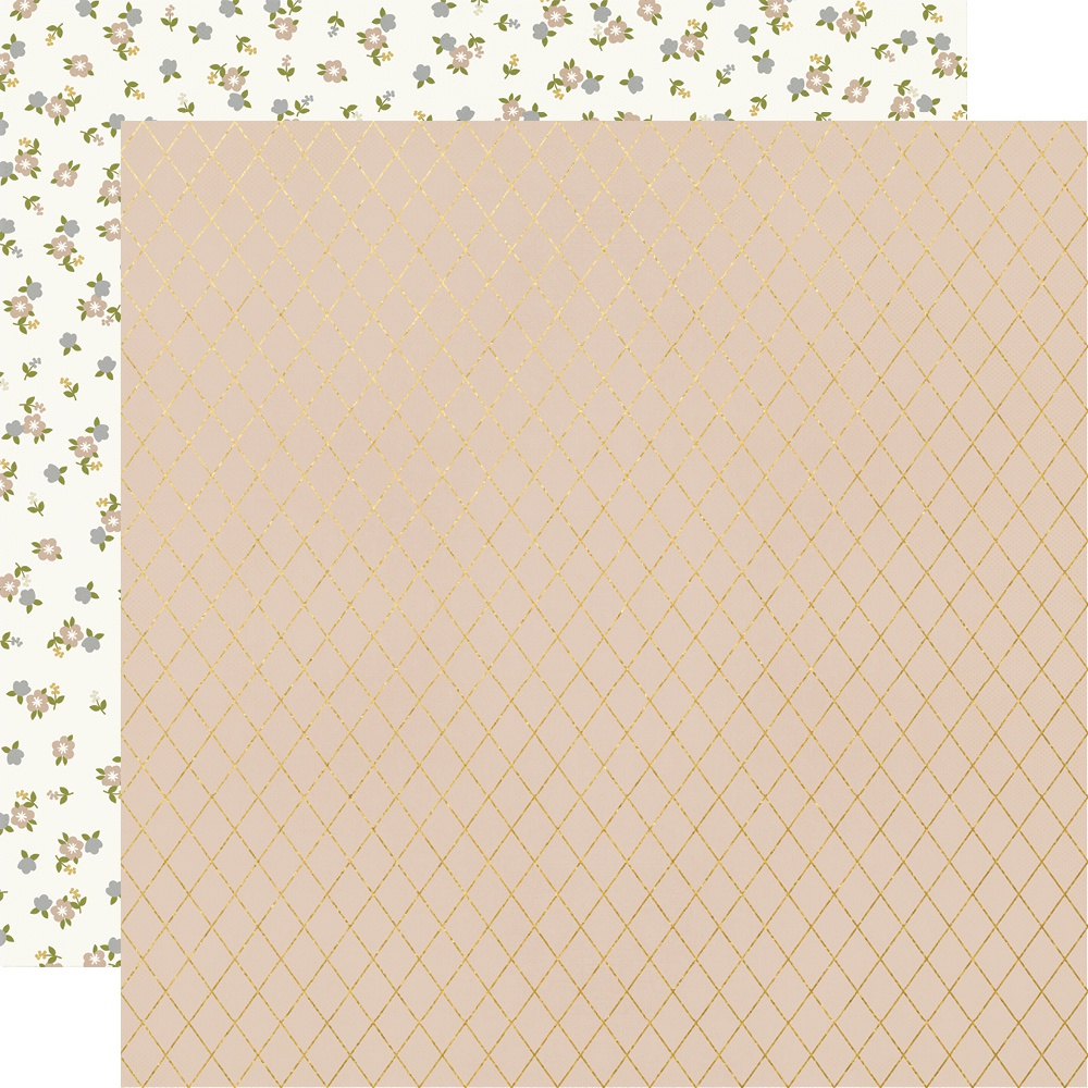 Happily Ever After Foiled Double-Sided Cardstock 12X12-Kiss Me