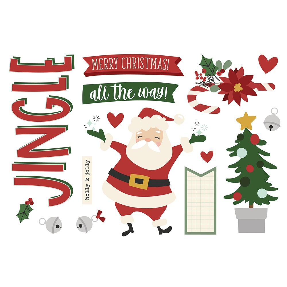 Christmas-Simple Stories Simple Pages Page Pieces-