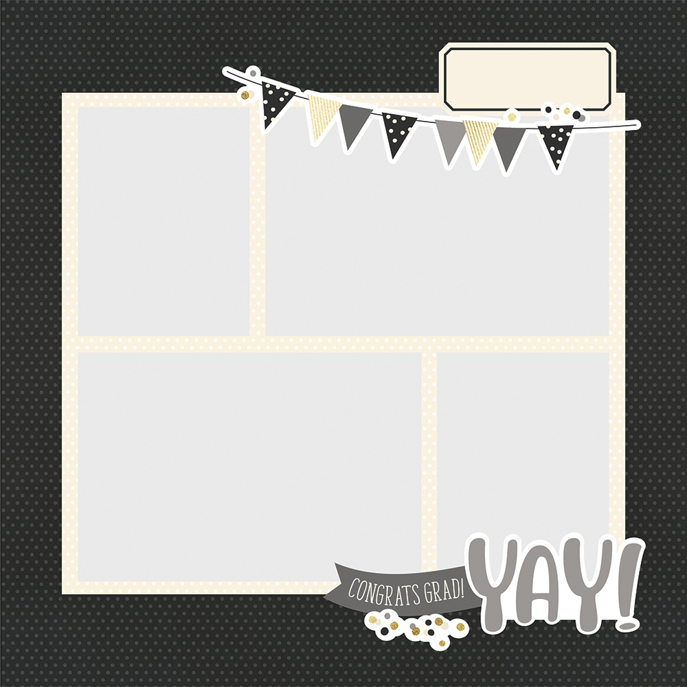 Simple Stories Simple Pages Page Pieces-Graduation