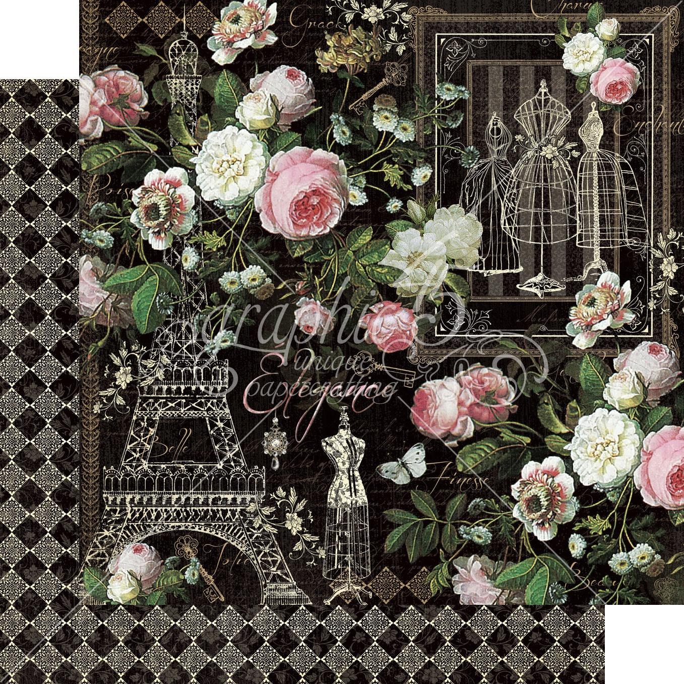 Elegance Double-Sided Cardstock - Elegance 12x12