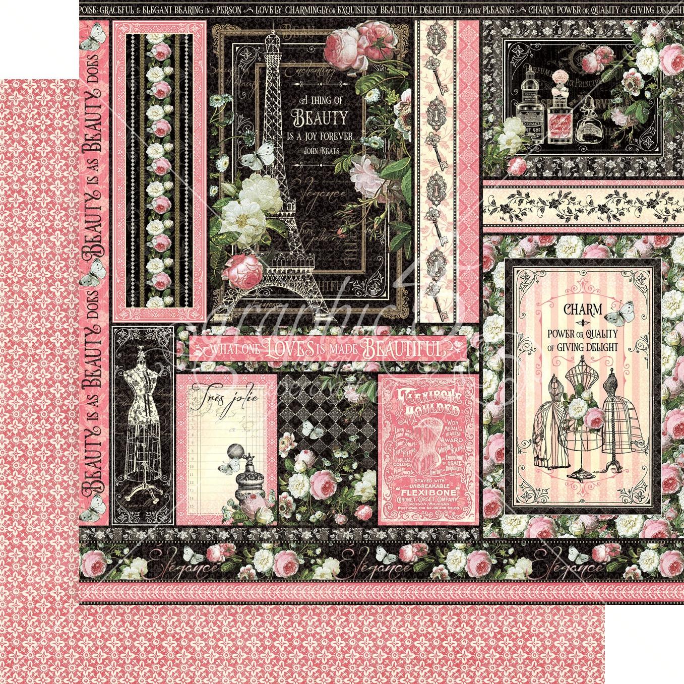 Elegance Double-Sided Cardstock - Delightful 12x12
