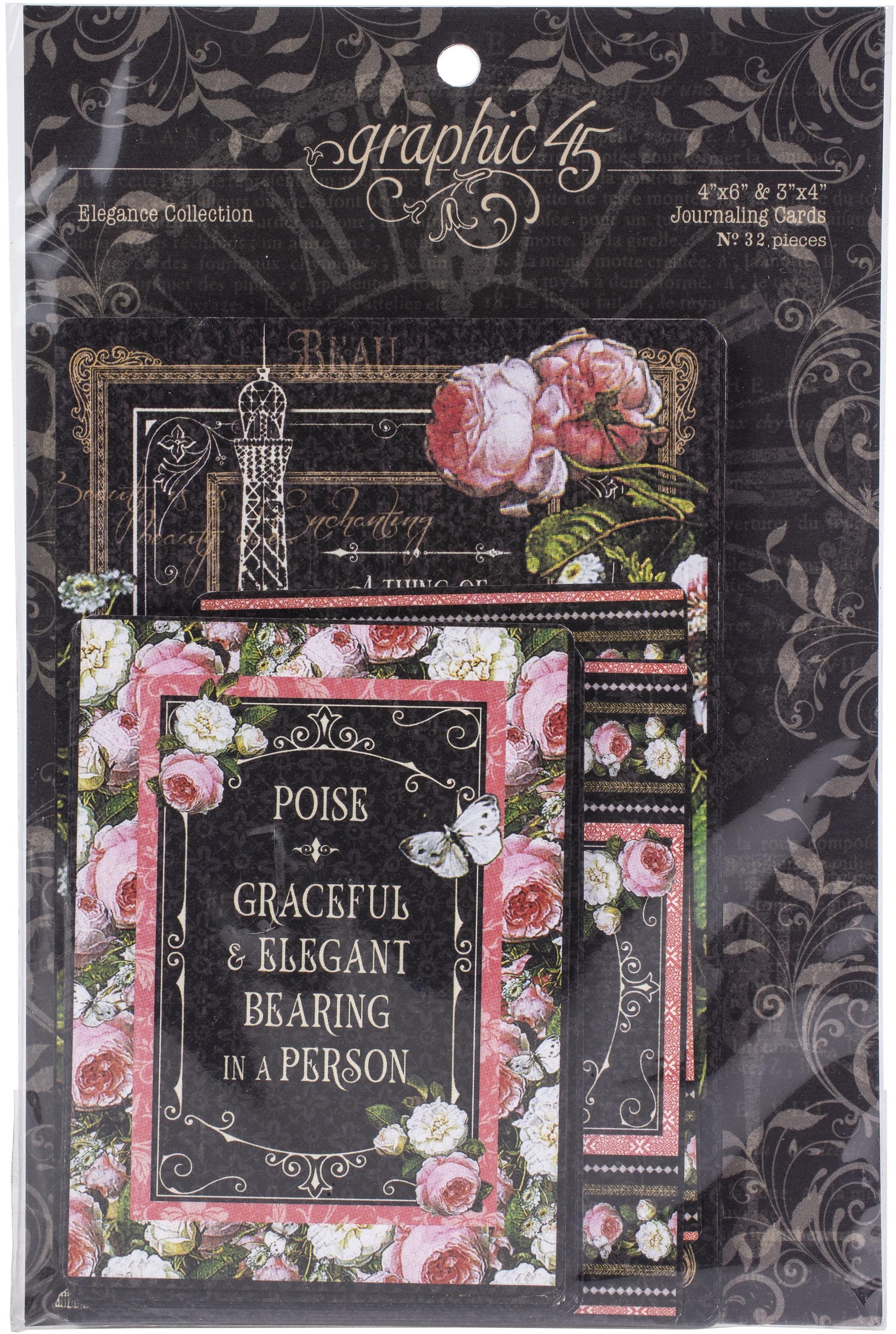 Elegance - Ephemera & Journaling Cards