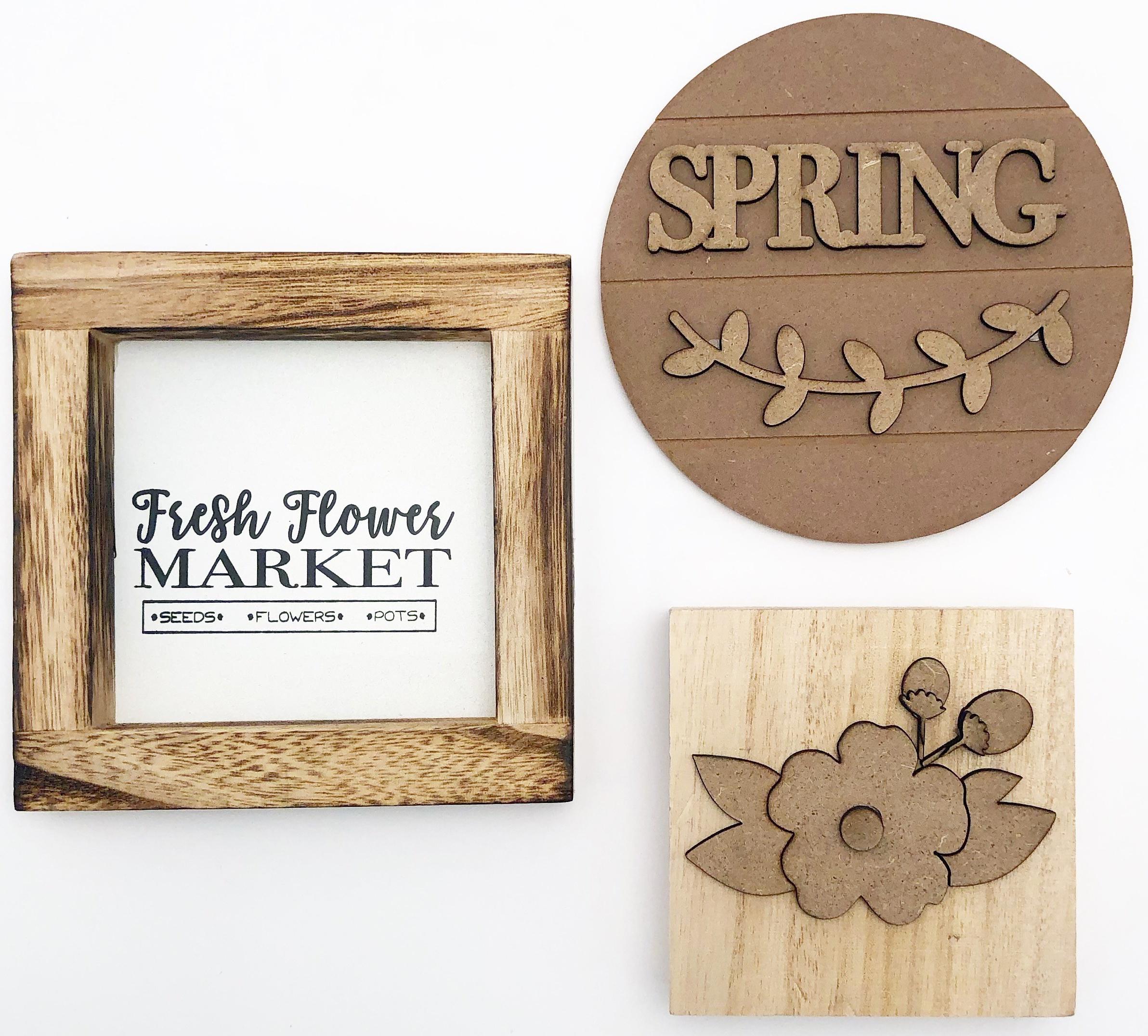 FD Tiered Tray Themed Kits-April