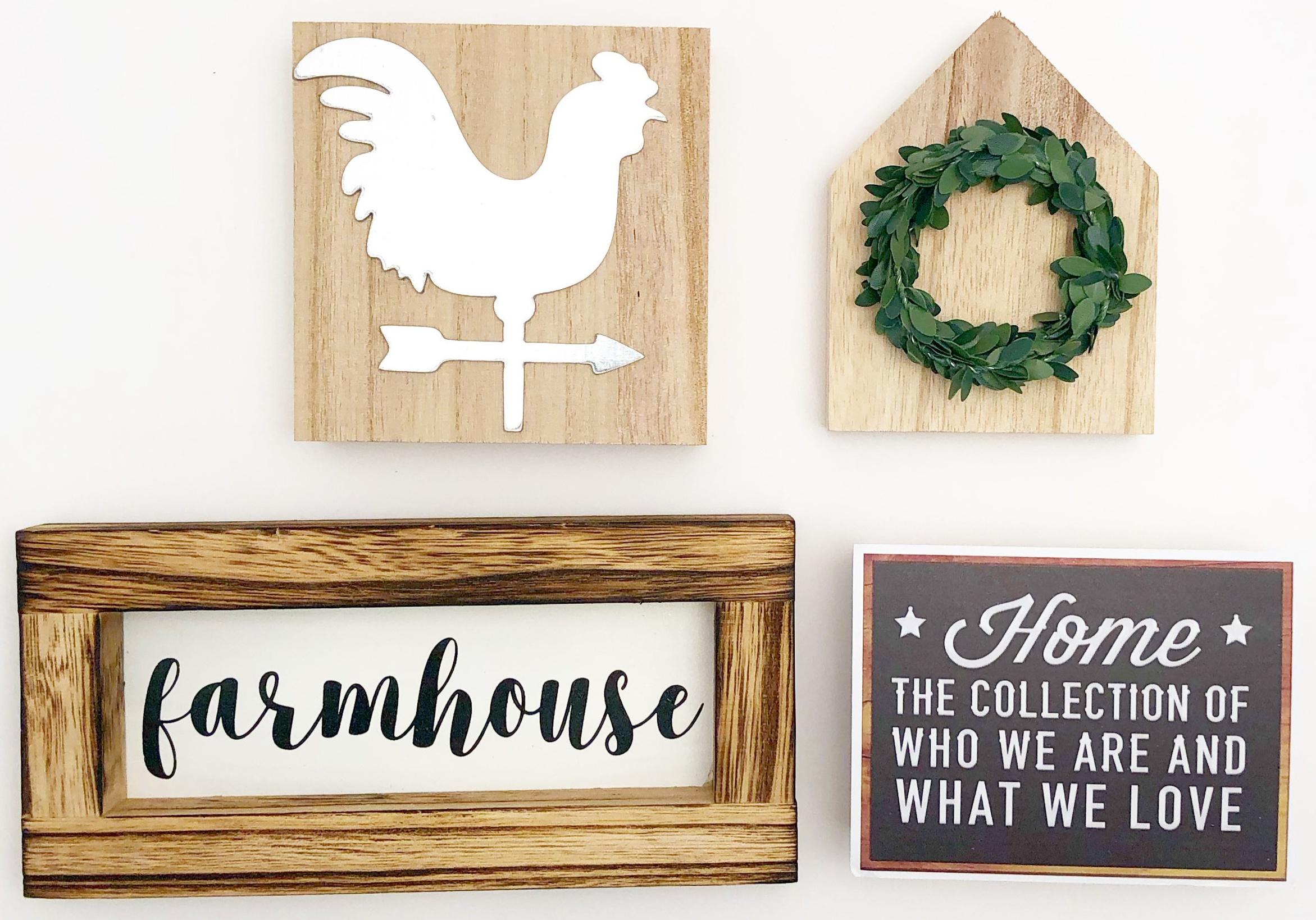 Foundations Decor Tiered Tray Themed Kits-Farmhouse