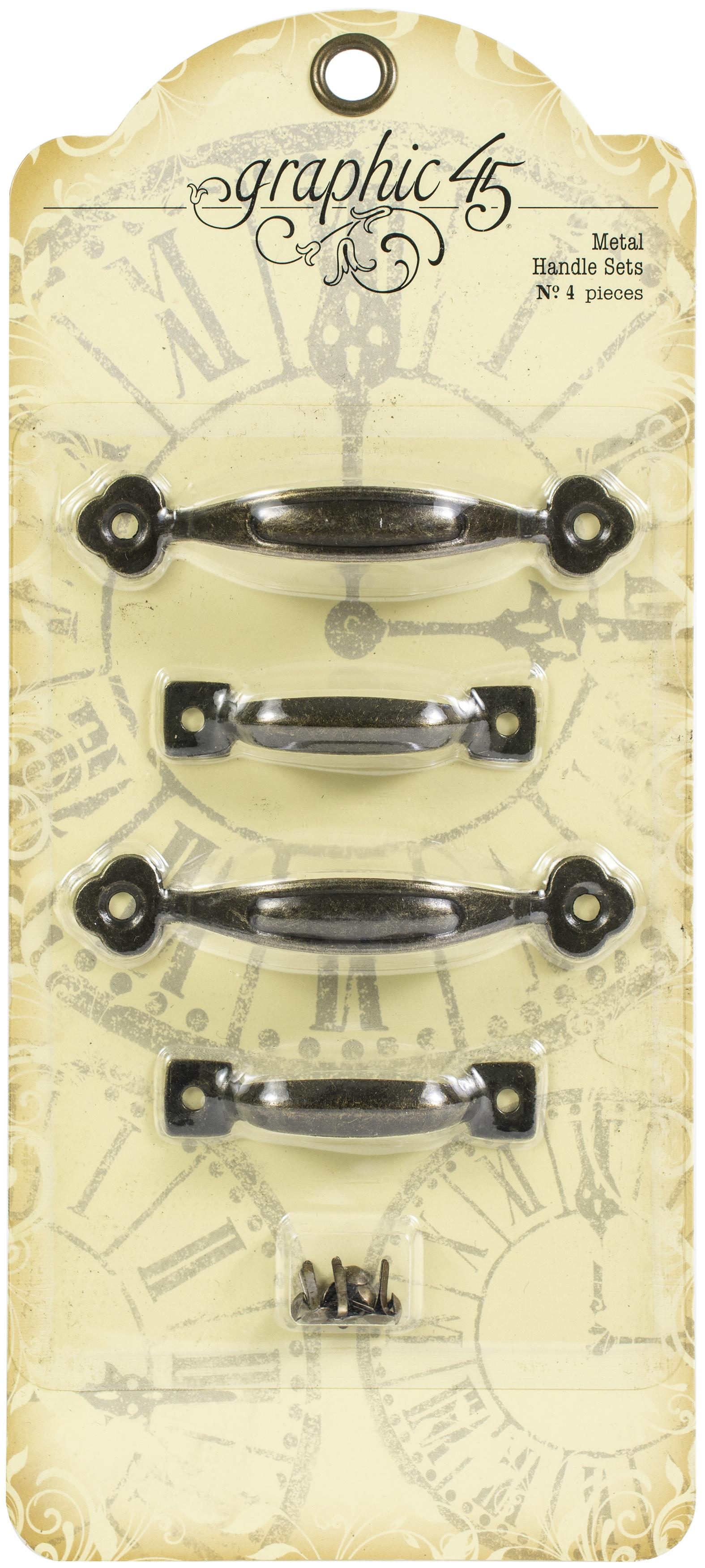 Graphic 45 Staples Metal Handle Set-