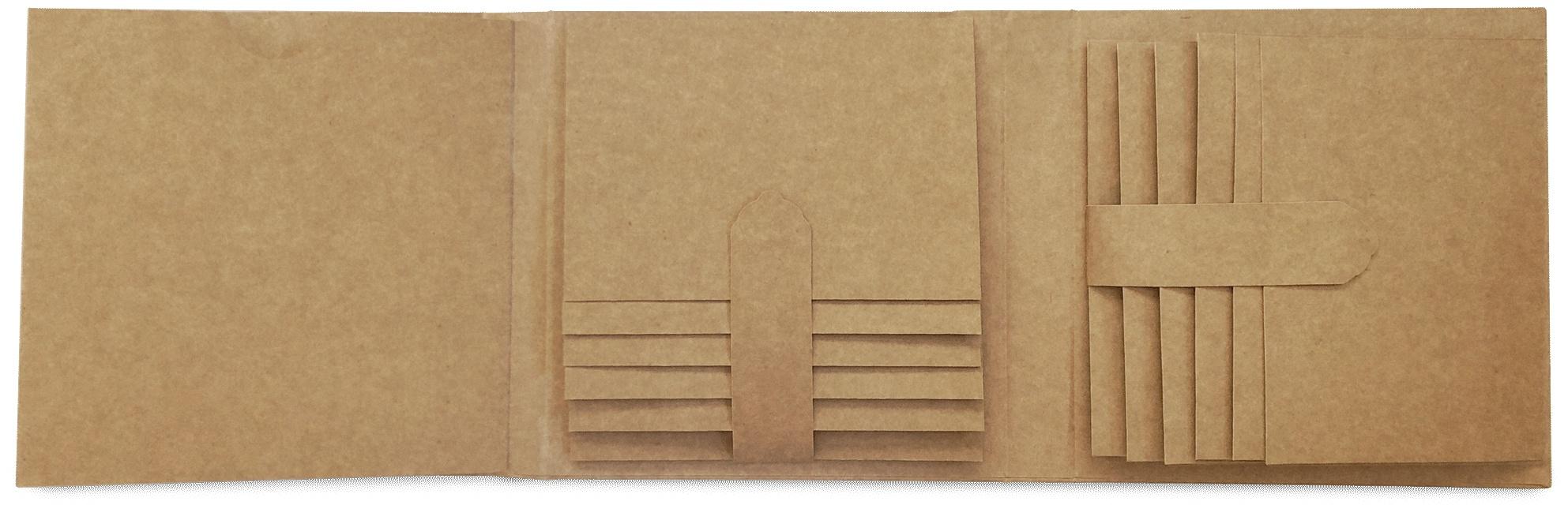 Graphic 45 Staples Trifold Waterfall Folio Album-