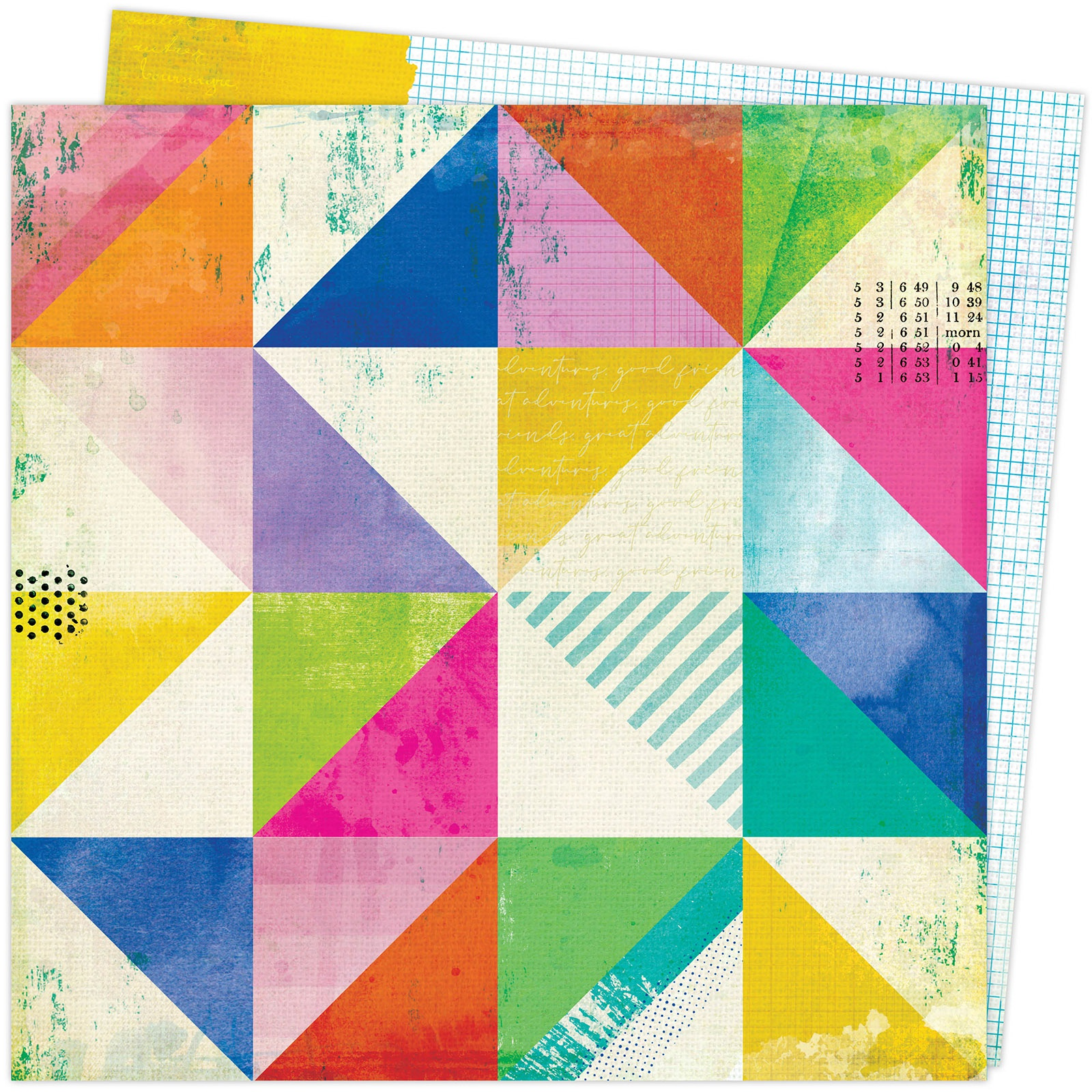 Vicki Boutin Color Study Double-Sided Cardstock 12X12-Abstract