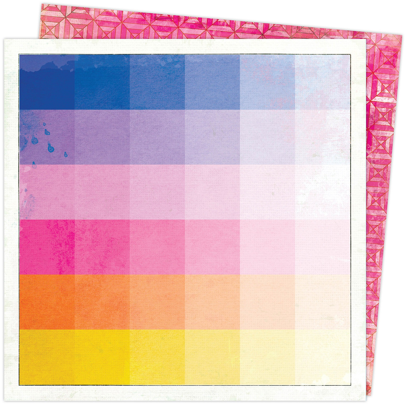 Vicki Boutin Color Study Double-Sided Cardstock 12X12-Thumbnail