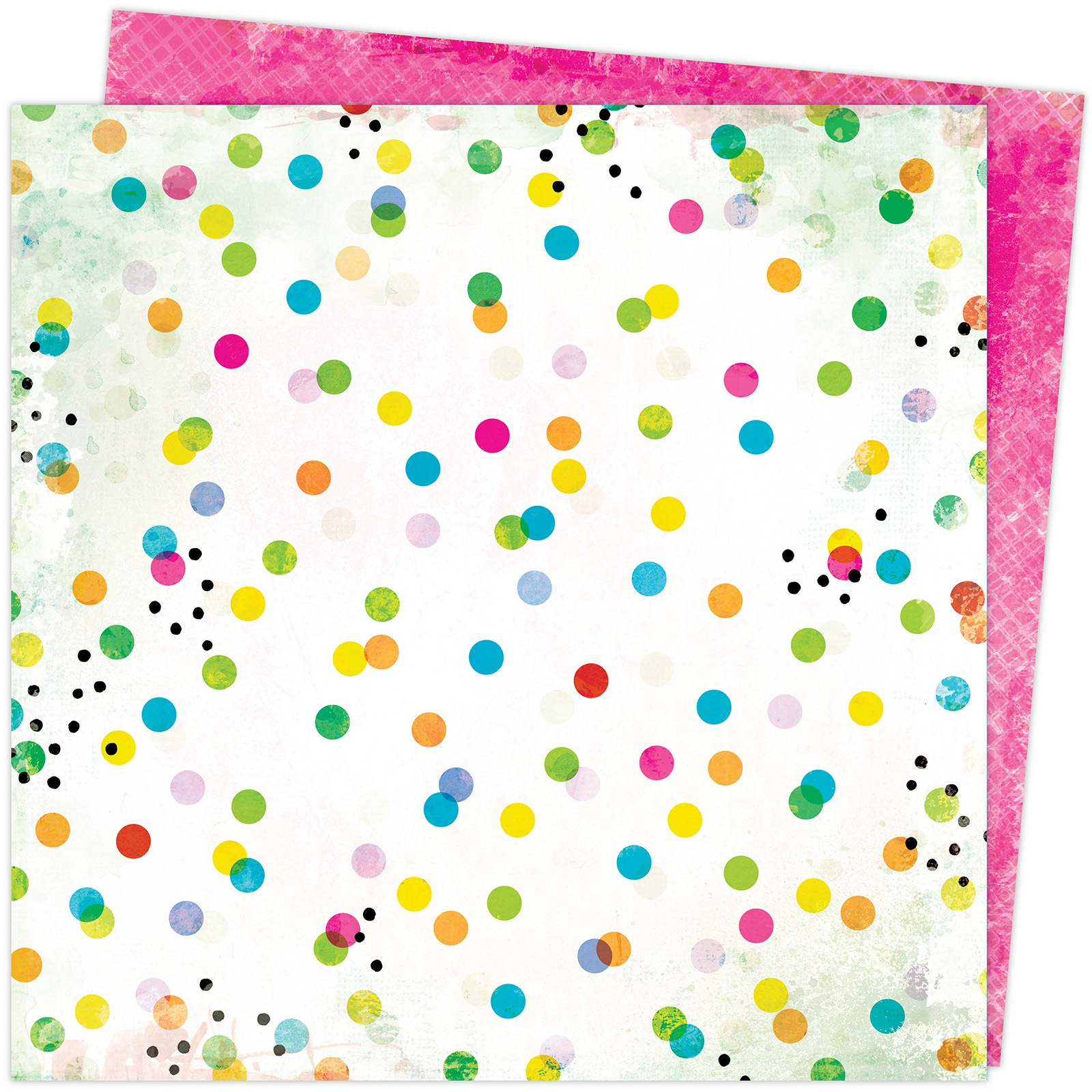 Vicki Boutin Color Study Double-Sided Cardstock 12X12-Dots & Marks