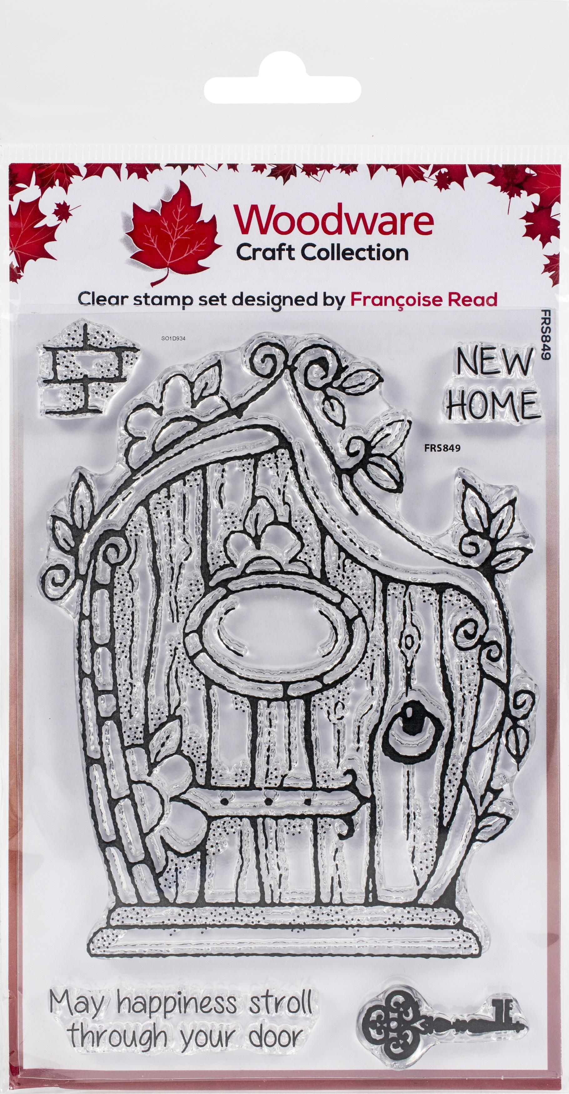 Woodware Clear Stamps 4X6-Fairy Door
