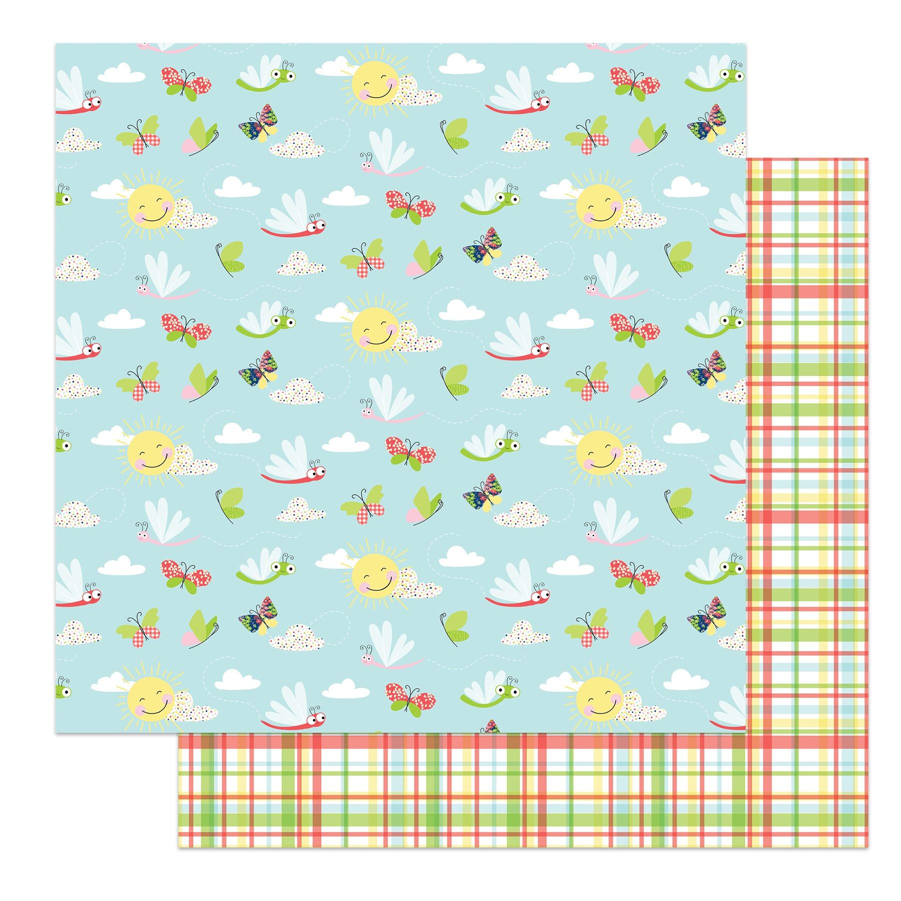 COLLECTION: Fern & Willard Double-Sided Cardstock 12X12