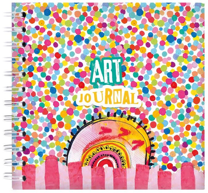 Studio Light Confetti Marlene's World Art Journal-Nr.12