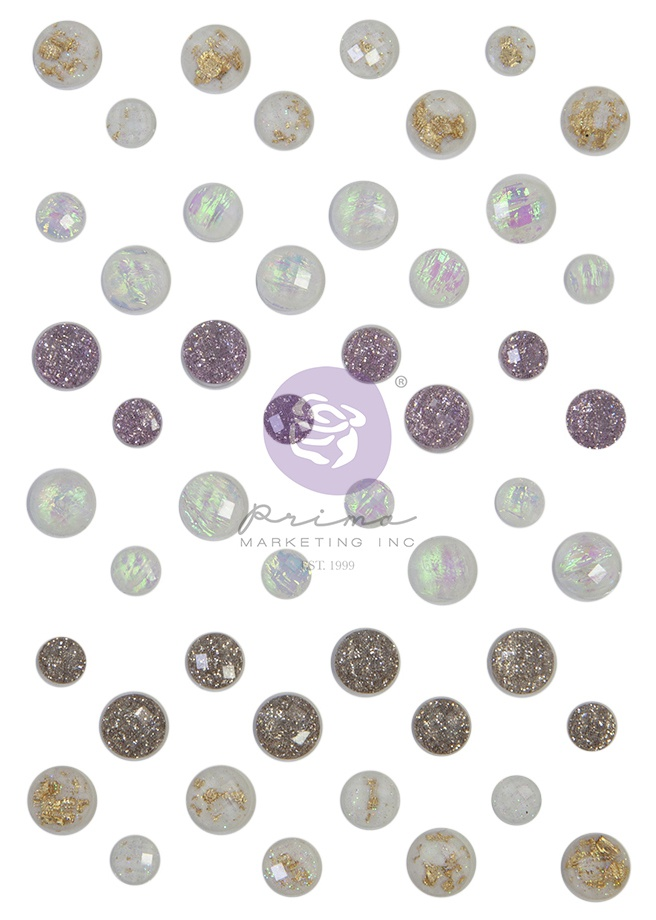 Prima Marketing Magic Love Say It In Crystals-Assorted Dots 48/Pkg