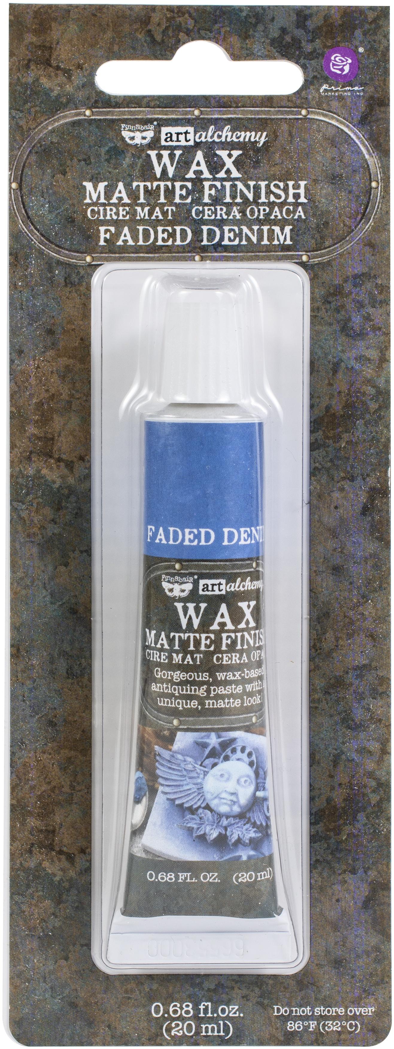 Finnabair Art Alchemy Matte Wax Faded Denim