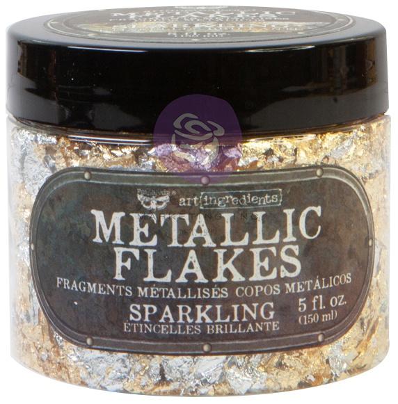 Finnabair Art Ingredients Metal Flakes 150ml-SELECT COLOR
