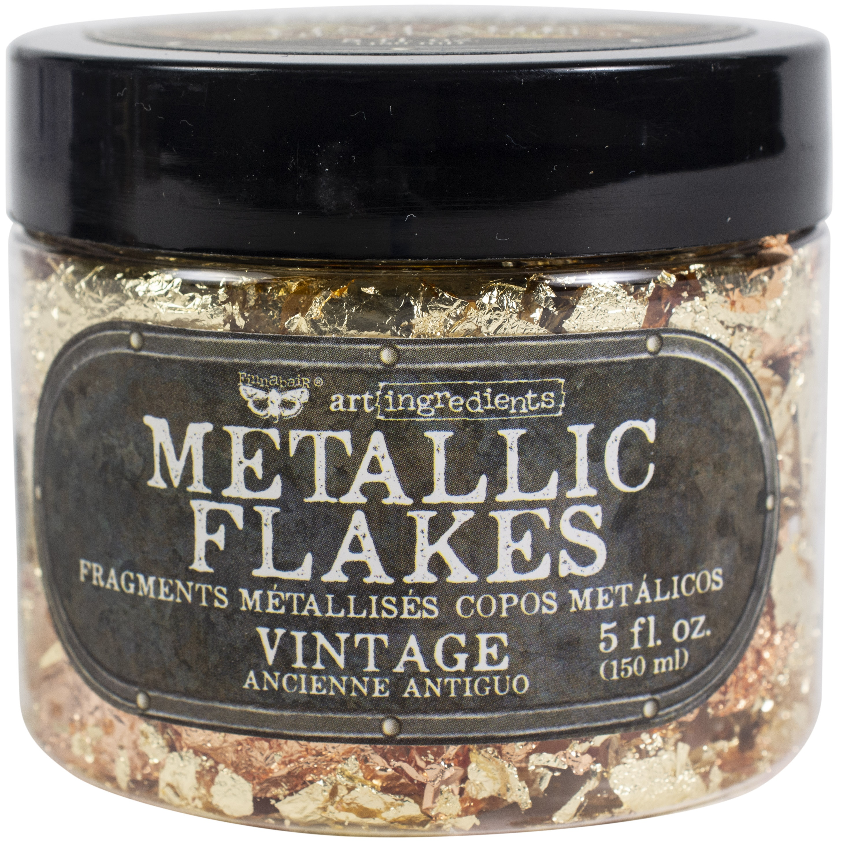Finnabair Art Ingredients Metal Flakes 150ml-Vintage