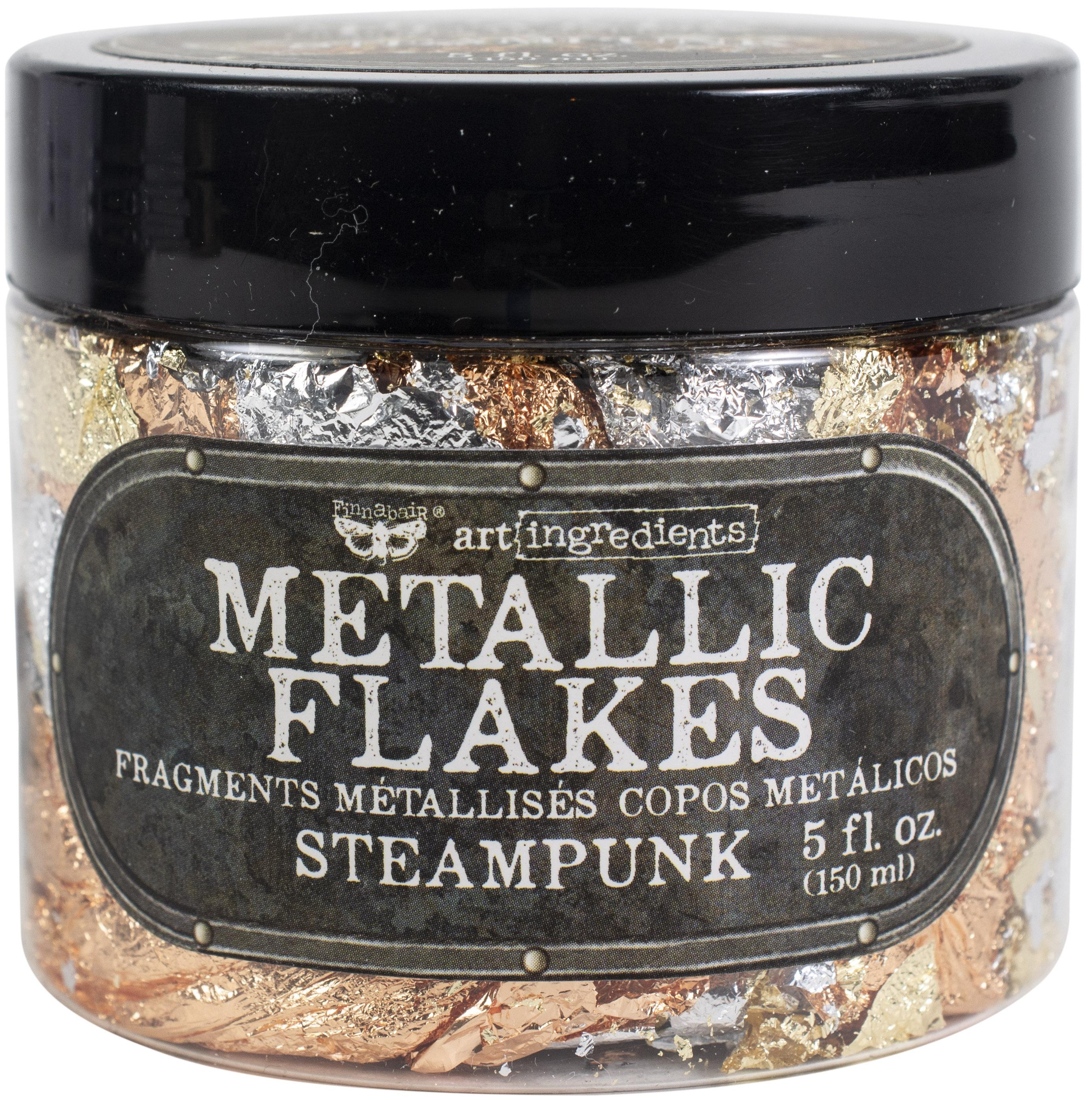 Finnabair Art Ingredients Metal Flakes 150ml-Steampunk