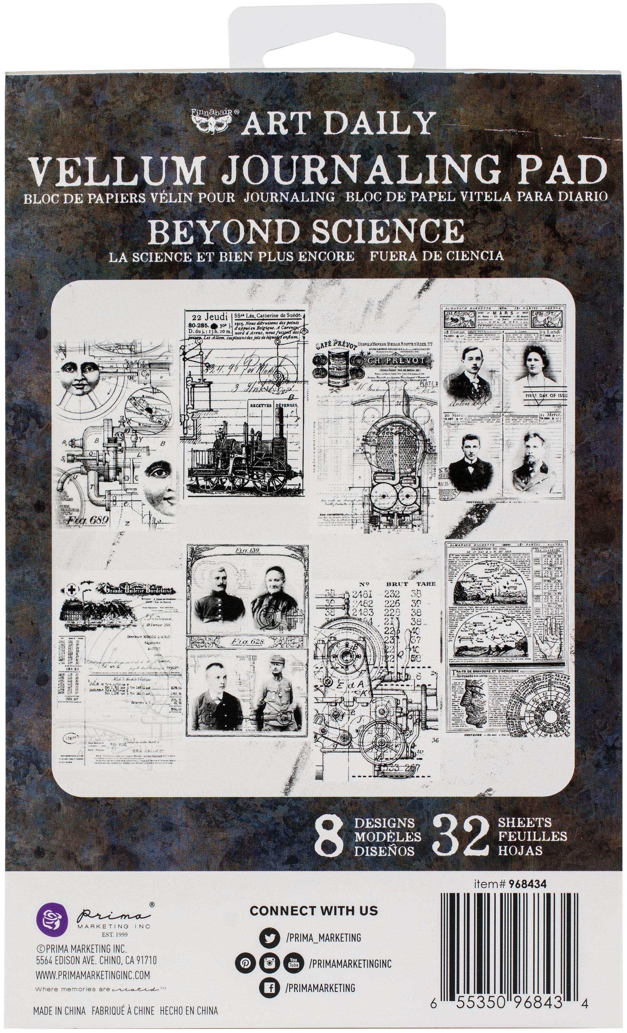 Prima Art Daily Vellum Pad 32/Pkg-Beyond Science