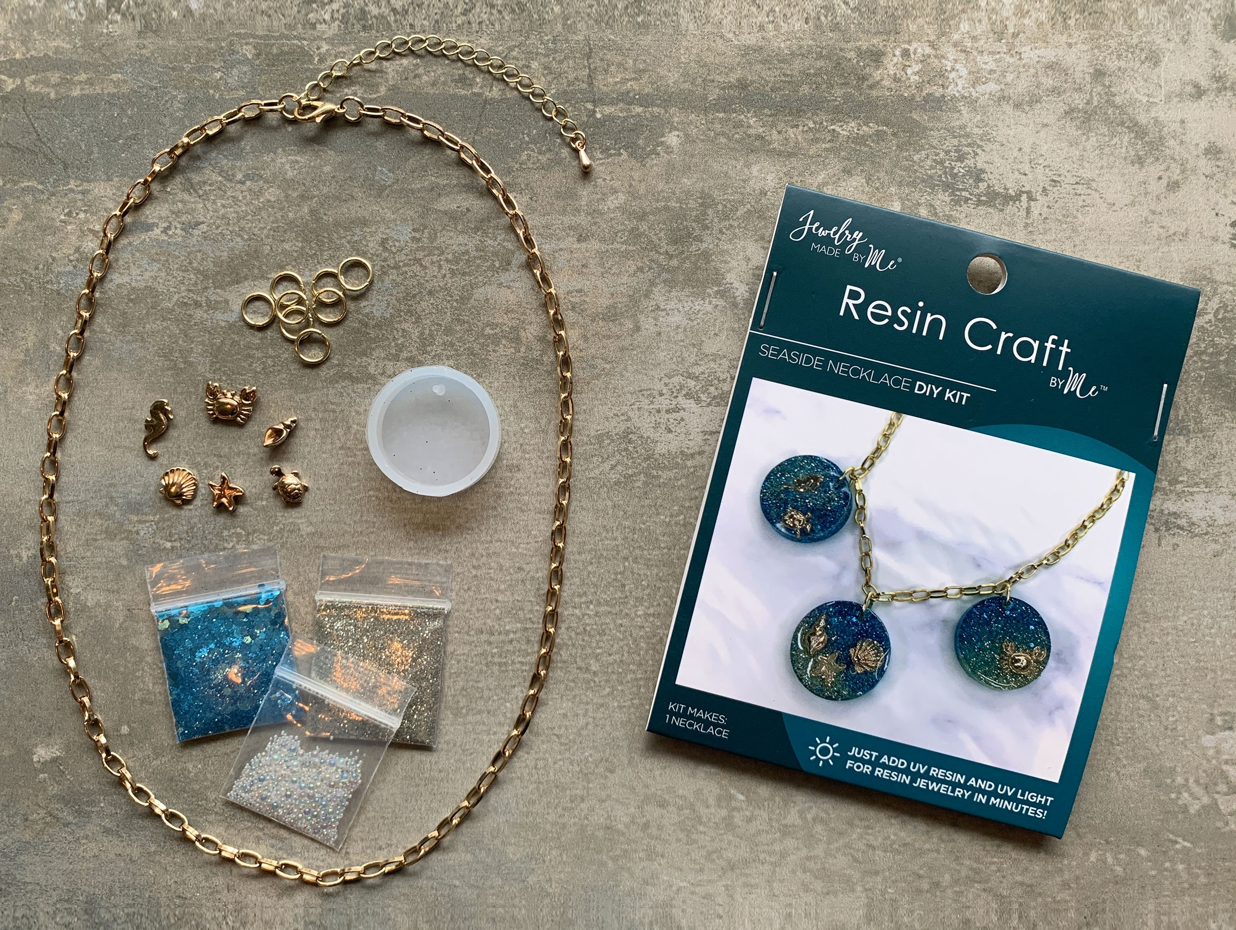 Resin Mini Kit-Seaside Pendant