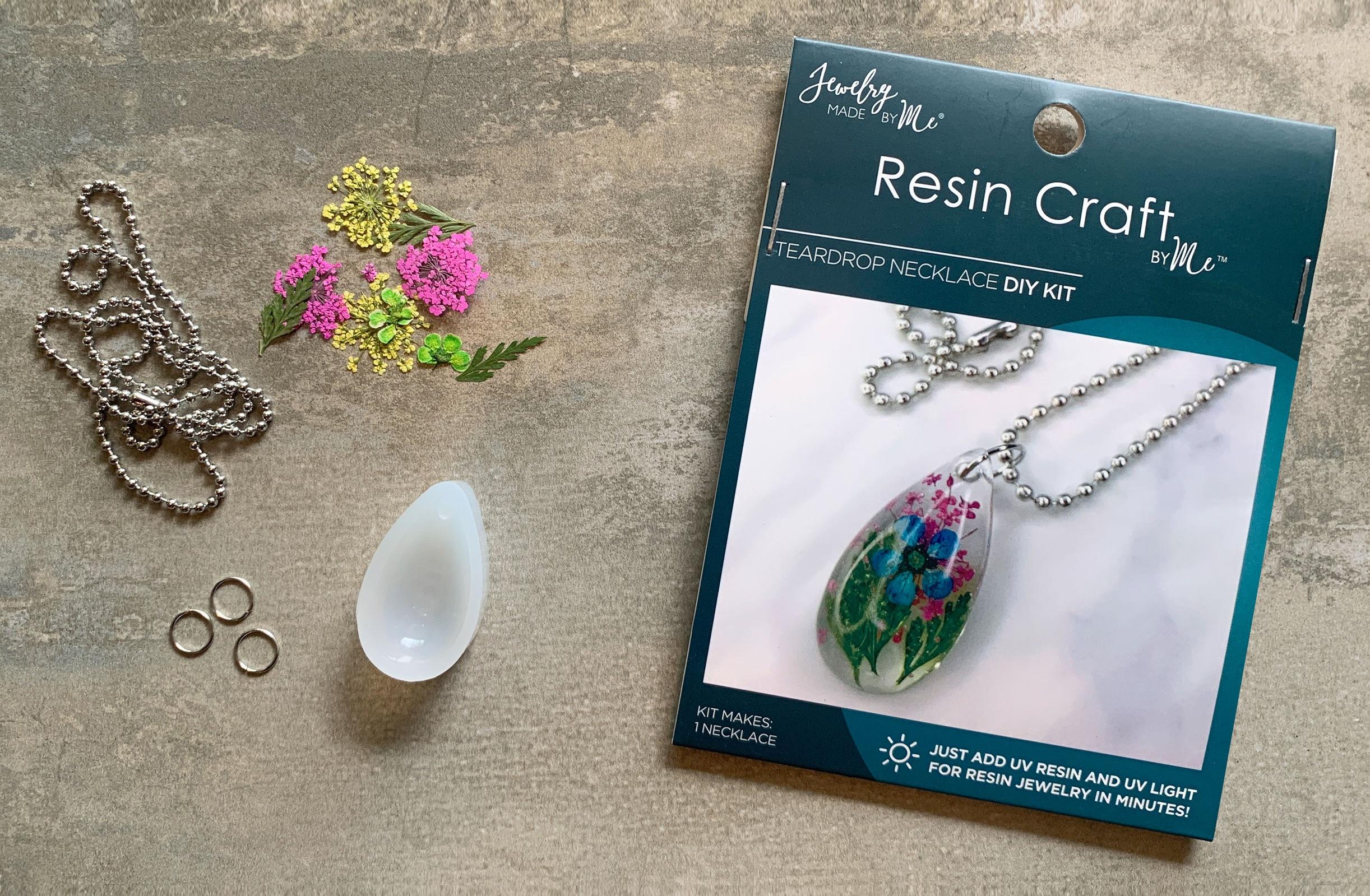 Resin Mini Kit-Flower Drop Pendant