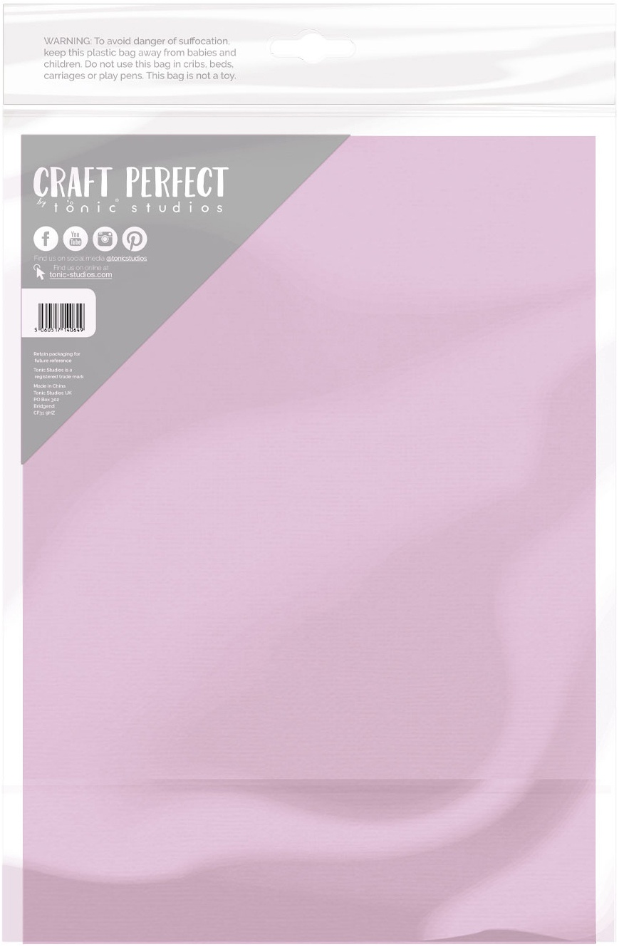 Craft Perfect Classic Cardstock 8.5X11 -Sugar Lilac