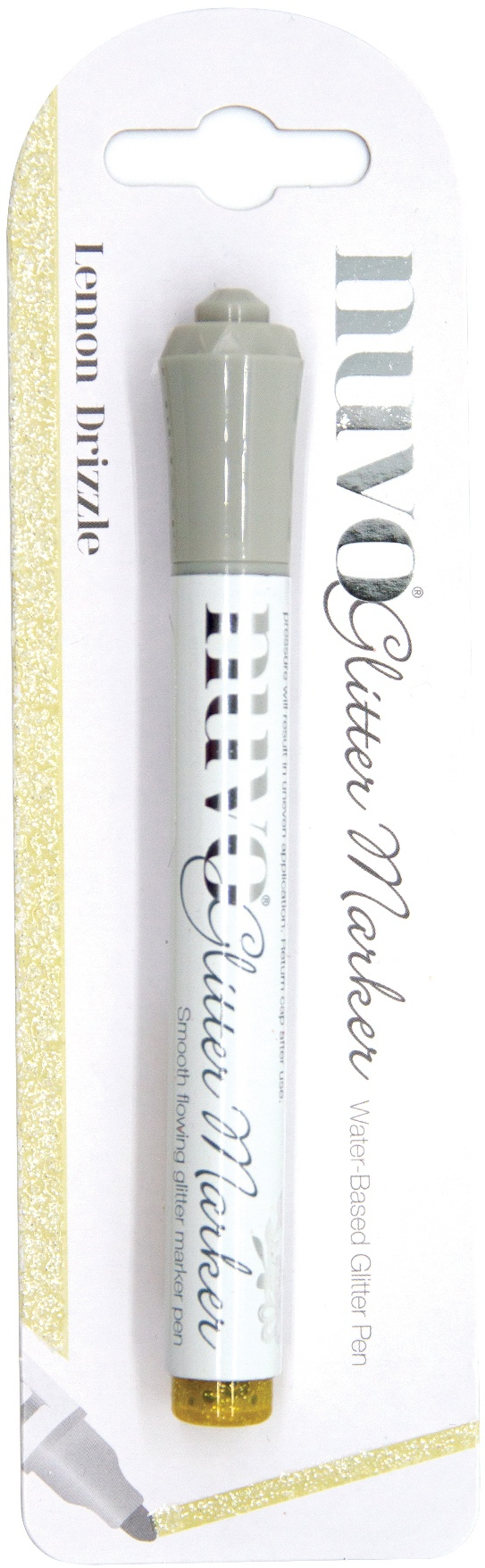Nuvo Glitter Marker Lemon Drizzle