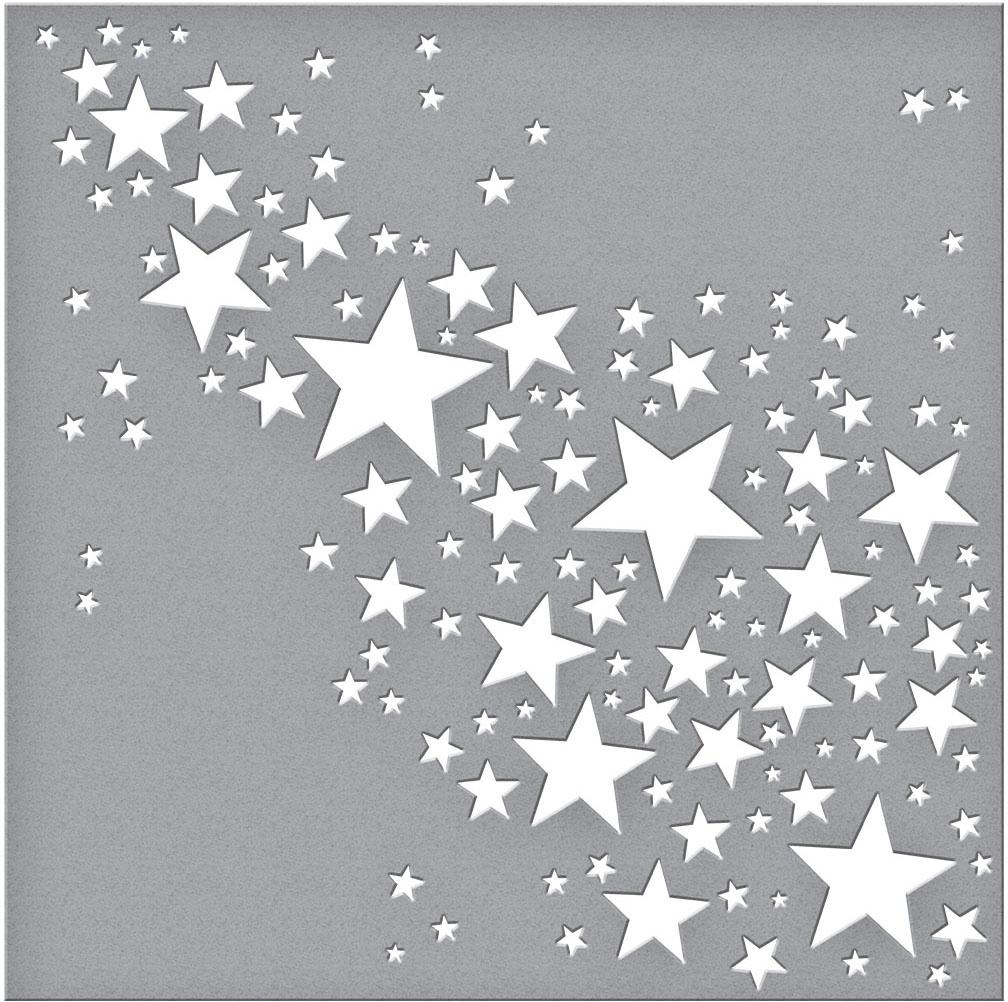 Spellbinders Stencil-Star Bright
