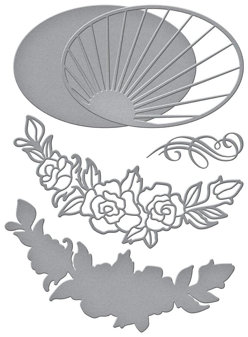 Spellbinders Radiant Oval