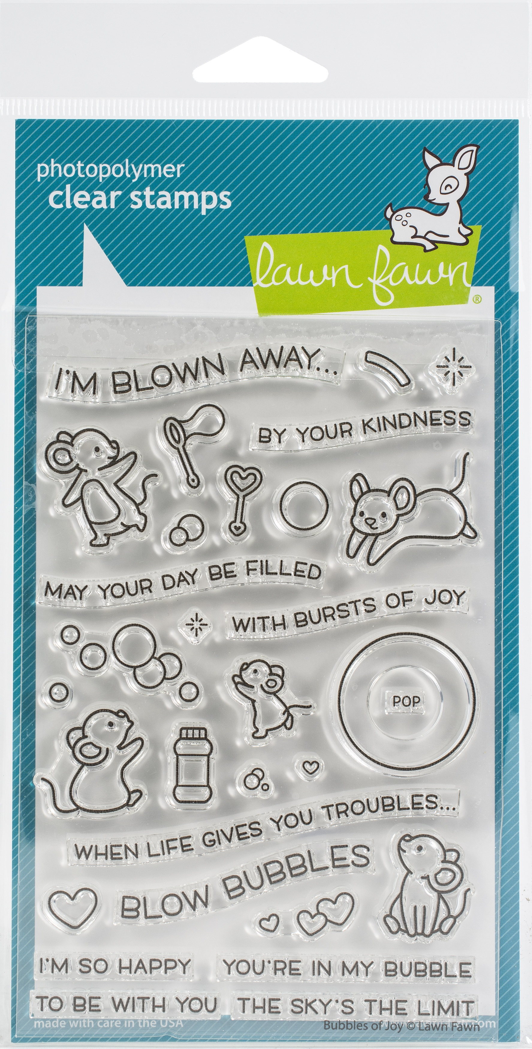 Bubble Of Joy - Stamps