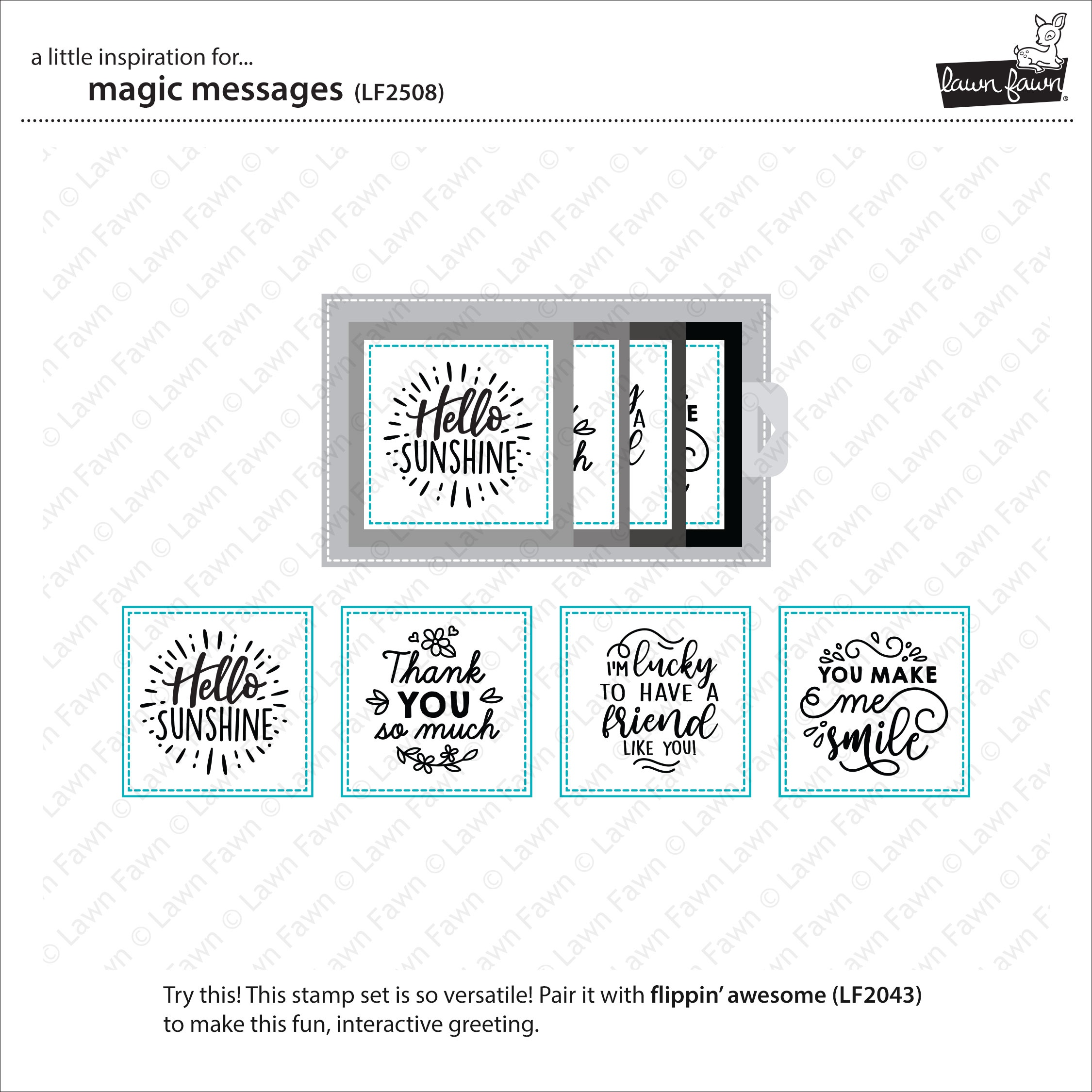 Magic Message Stamps