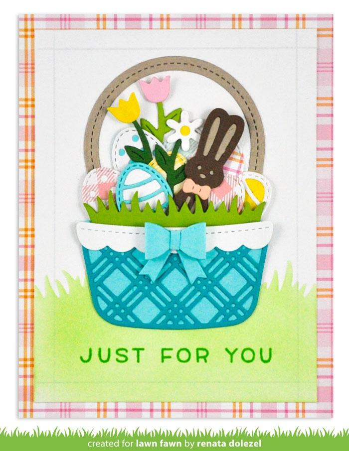 Lawn Cuts Custom Craft Die-Build-A-Basket: Easter