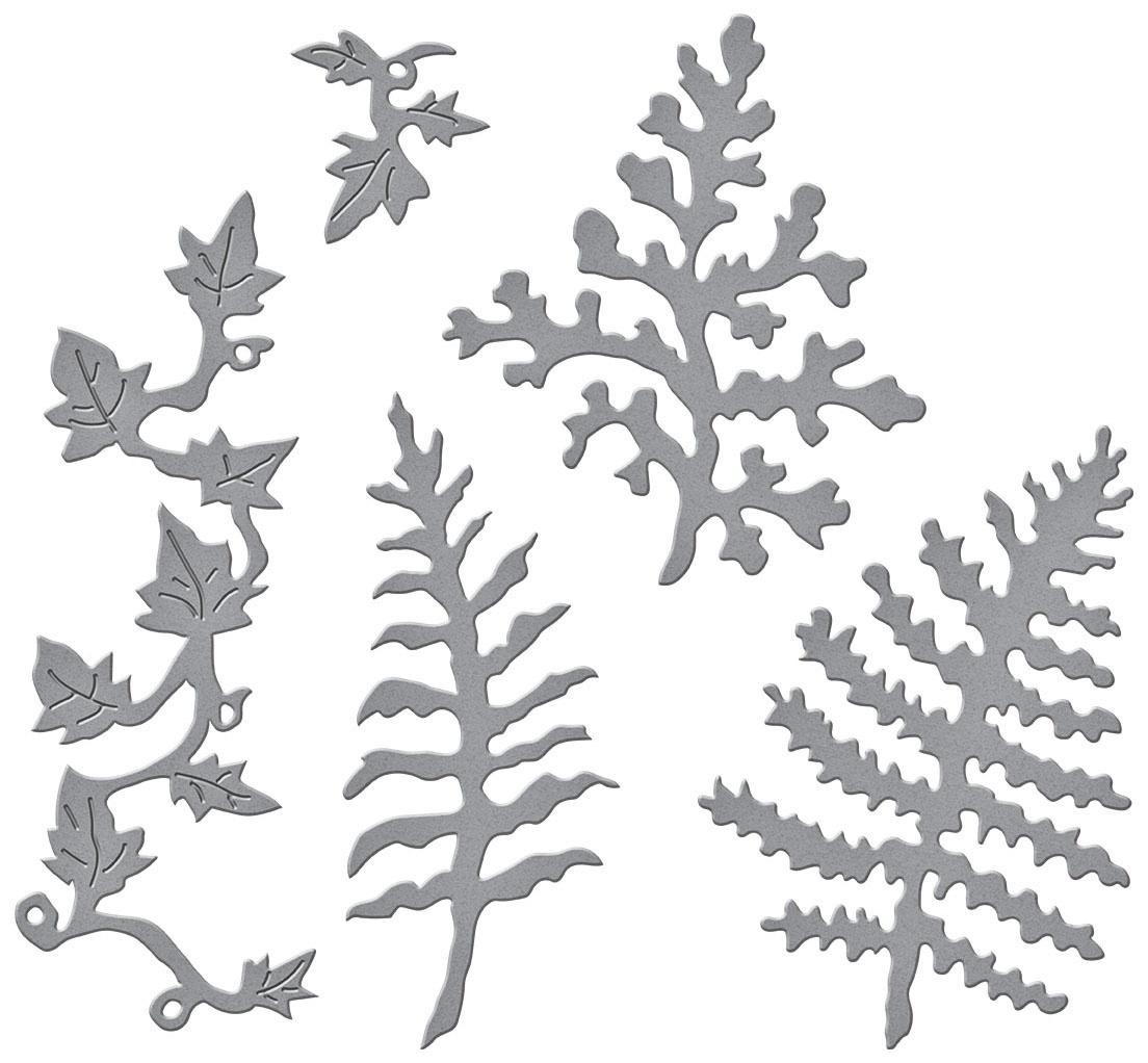 Spellbinders - Ferns & Ivy Etched Dies