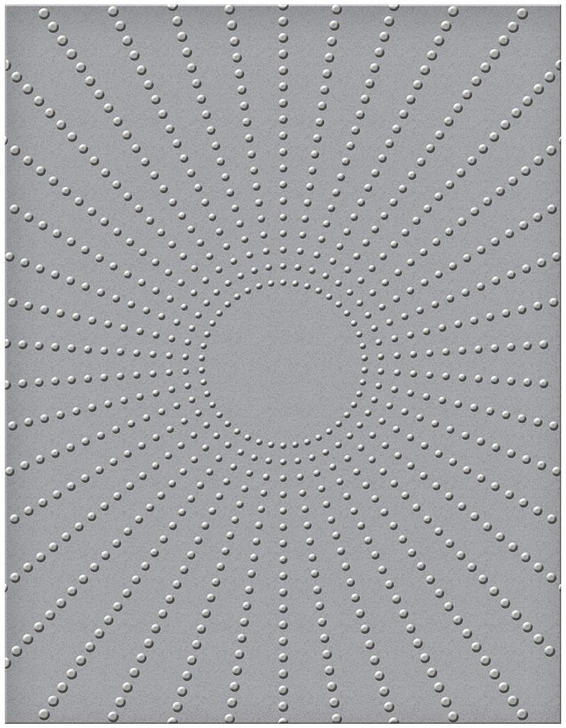 Spellbinders - Sun Rays Embossing Folder