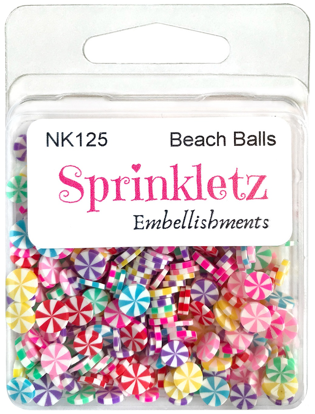 Buttons Galore Sprinkletz Embellishments 12g-Beach Ball