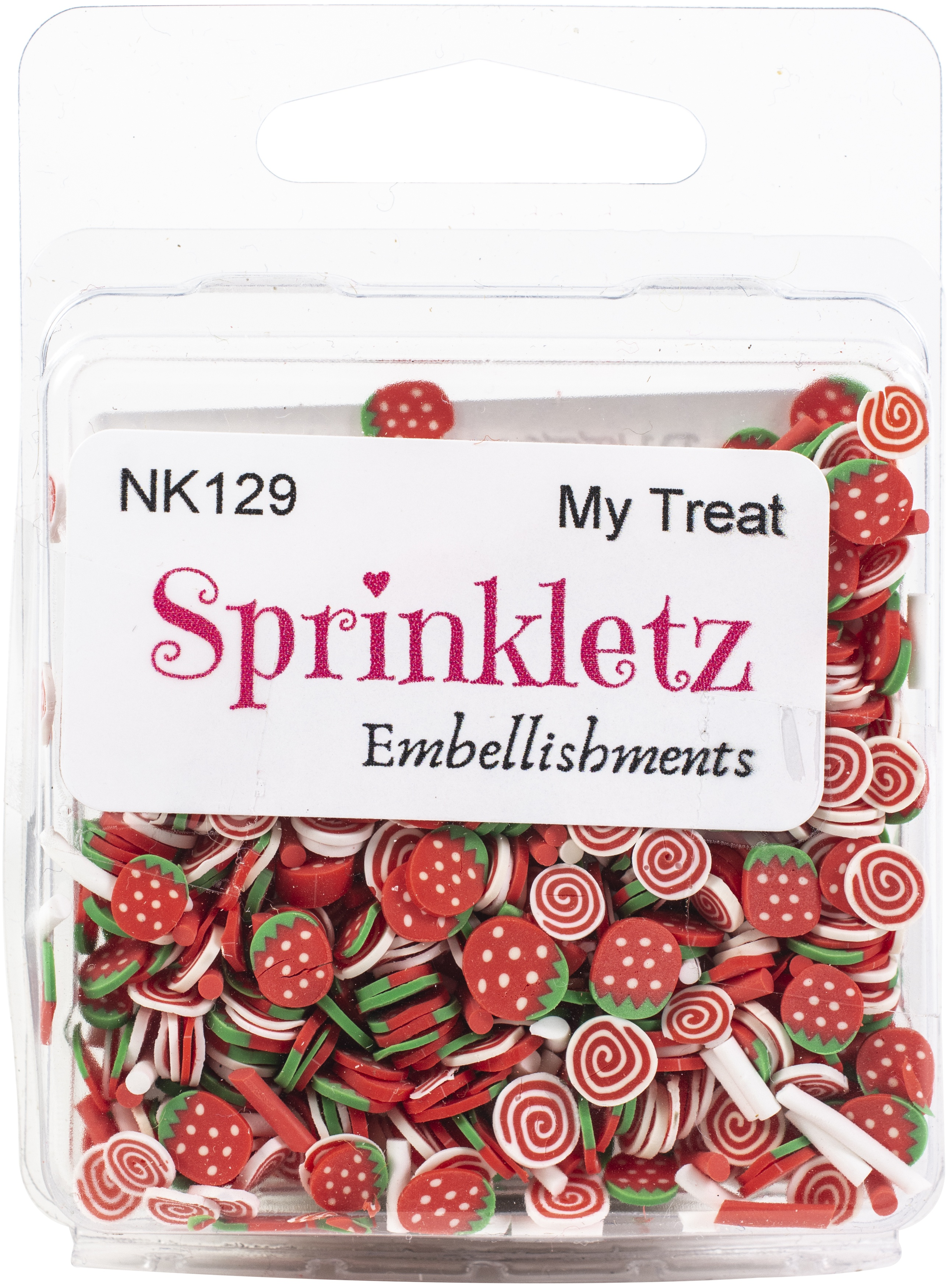 Buttons Galore Sprinkletz Embellishments 12g-My Treat