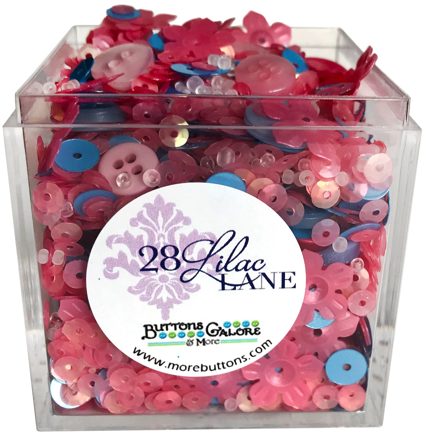 28 Lilac Lane Shaker Mix 65g-Cherries In Bloom