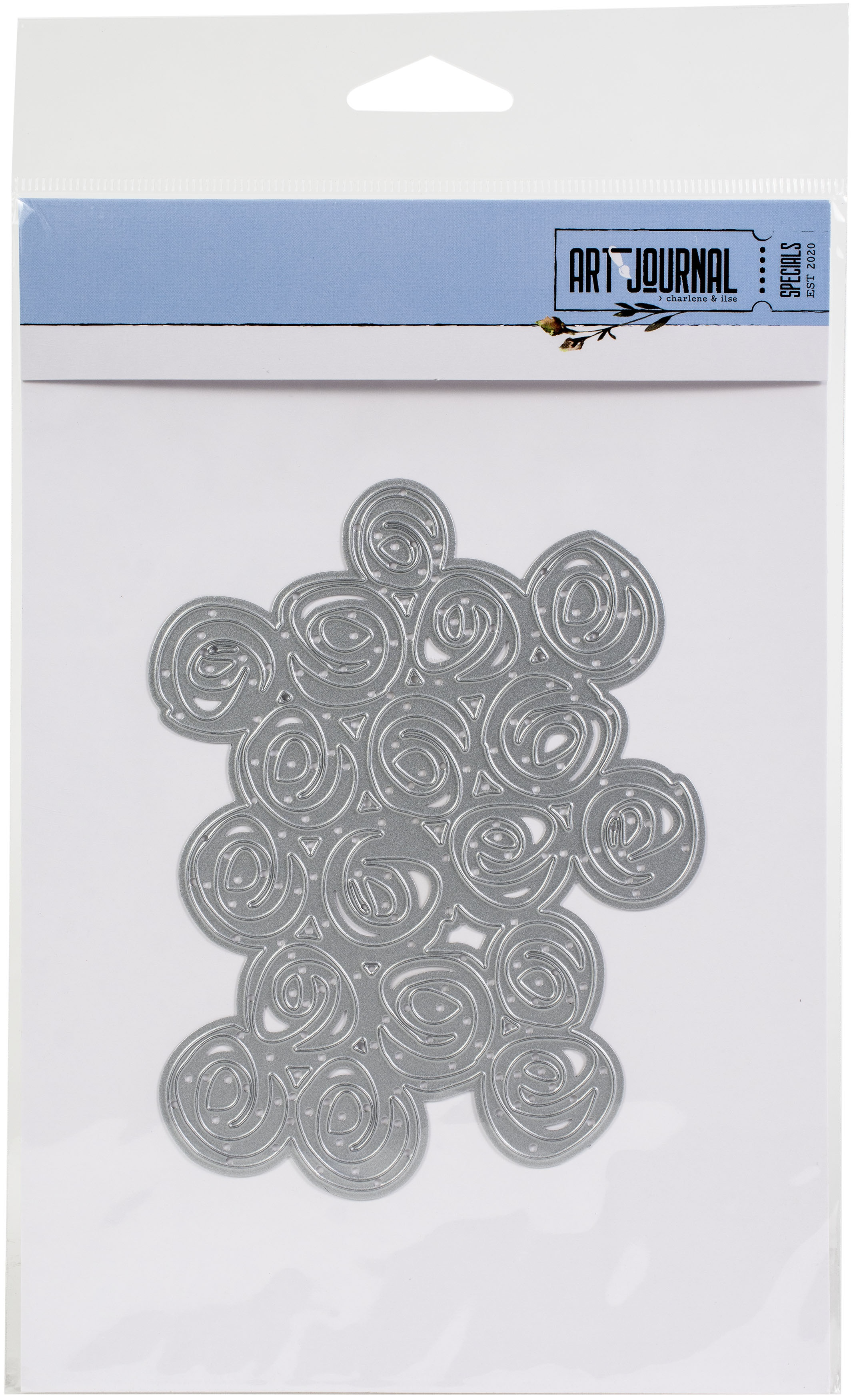 Elizabeth Craft Design Cinnamon Background Die - Matrice de découpe