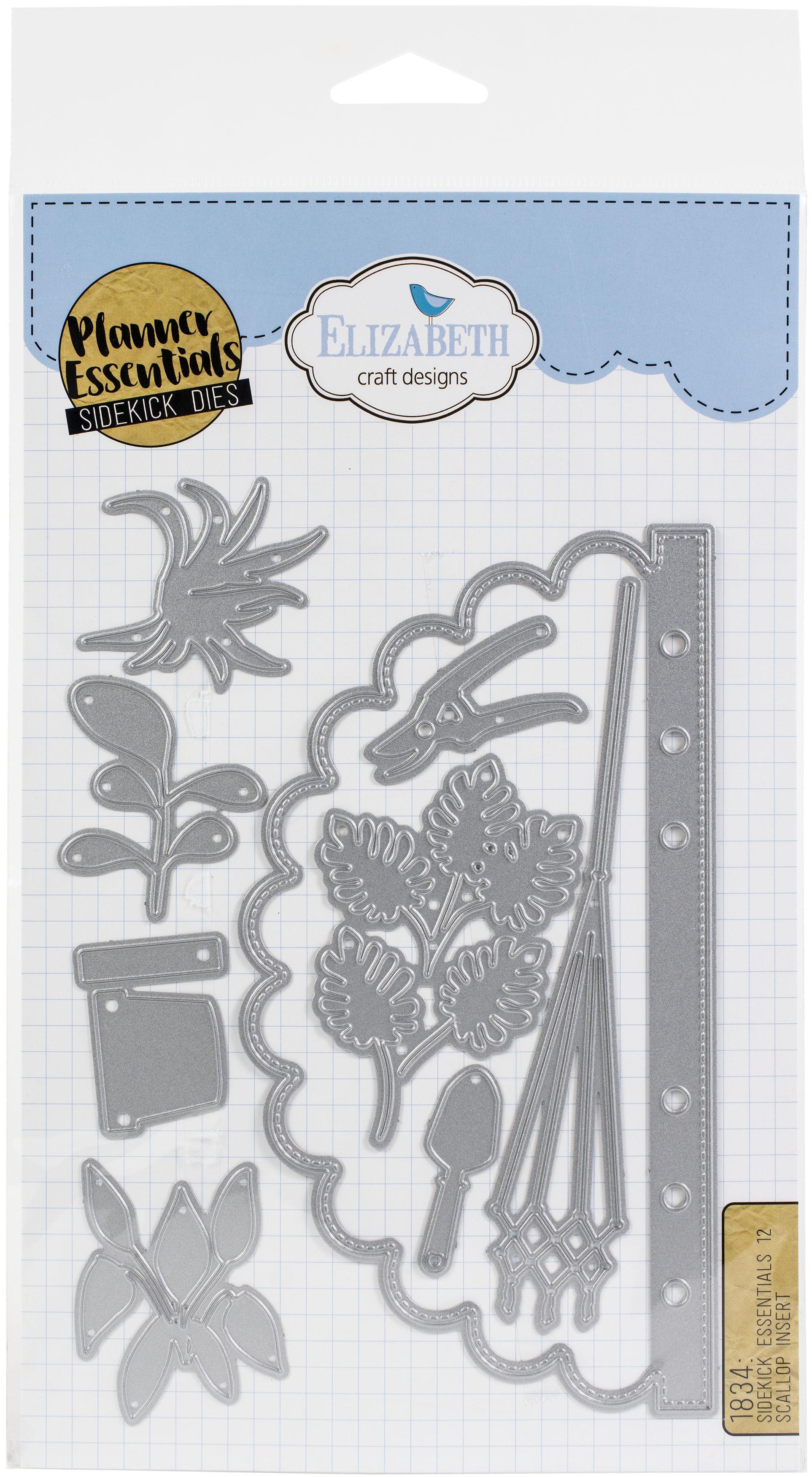 Elizabeth Craft Design Sidekick Planner Essentials Dies - Matrice no. 12