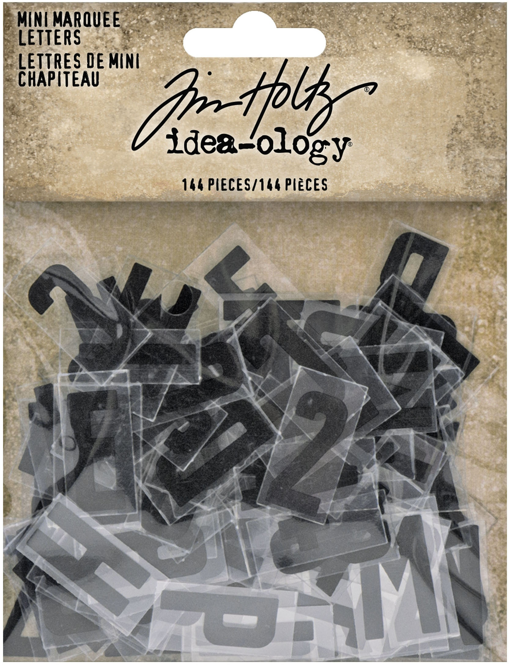 Idea-Ology Mini Marquee Letters 144/Pkg-