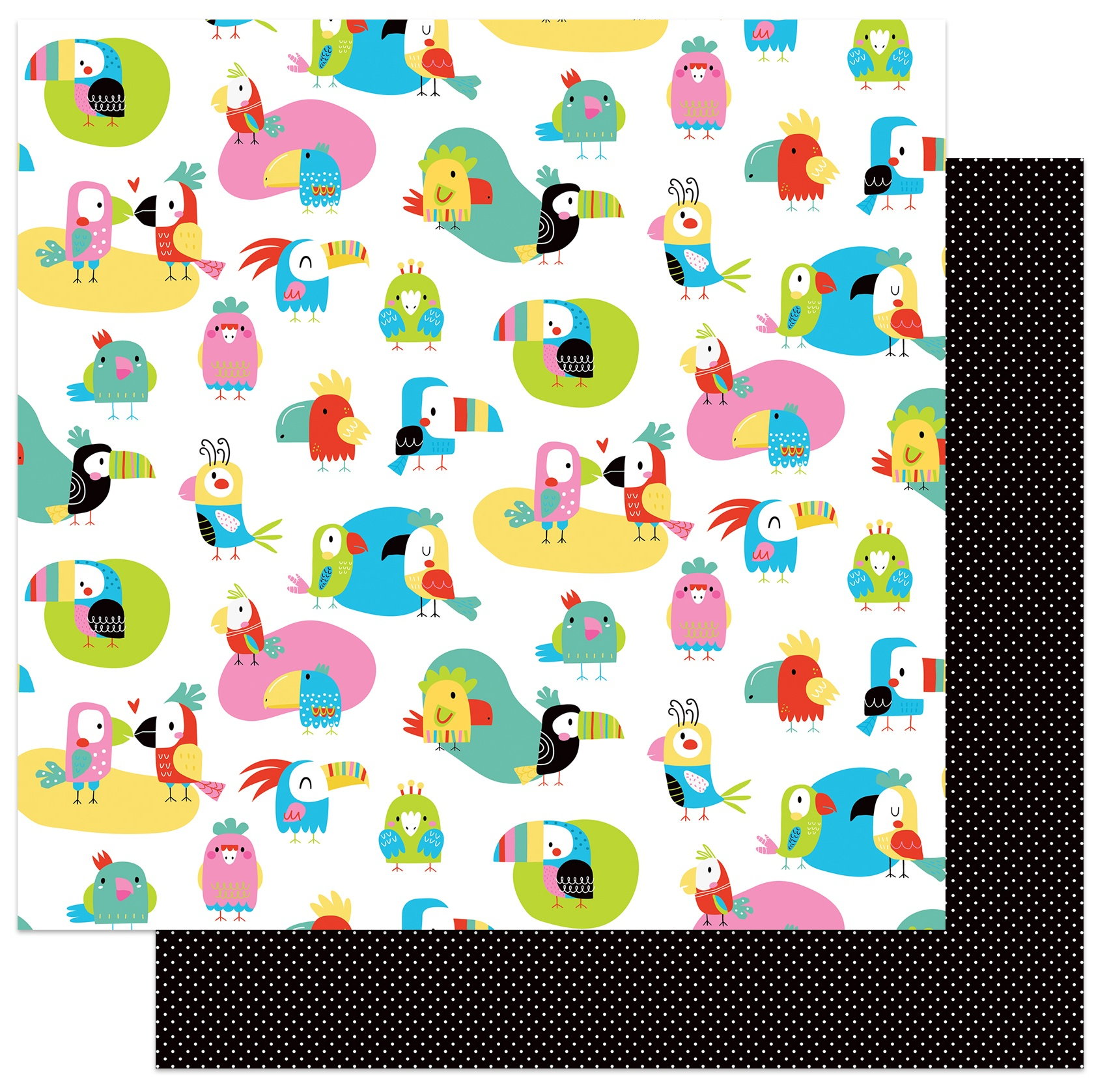 Birds Of A Feather Double-Sided Cardstock 12X12-Spread Your Wings