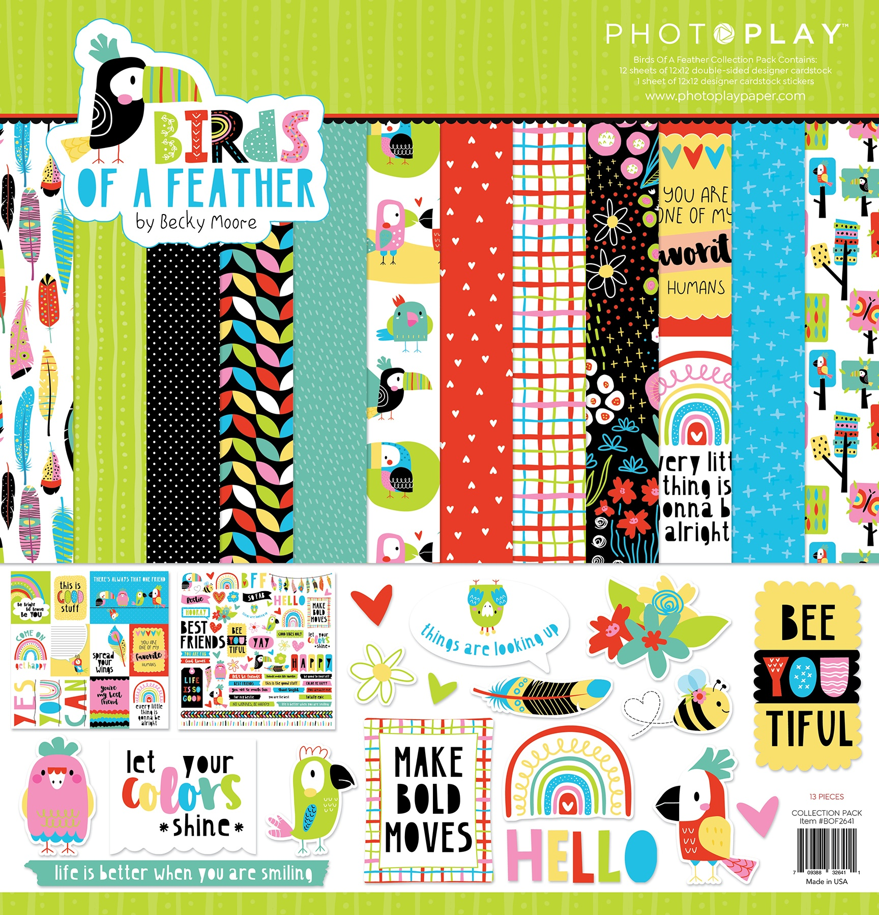PhotoPlay Collection Pack 12X12-Birds Of A Feather
