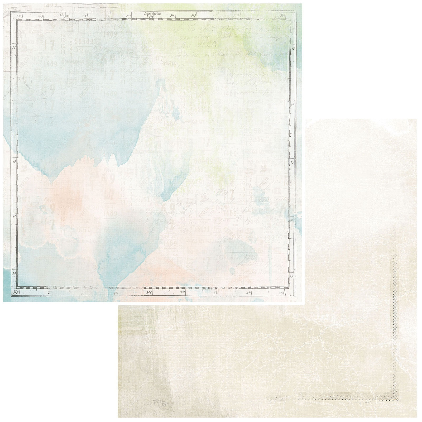 Vintage Artistry Anywhere Double-Sided Cardstock 12X12-Edges