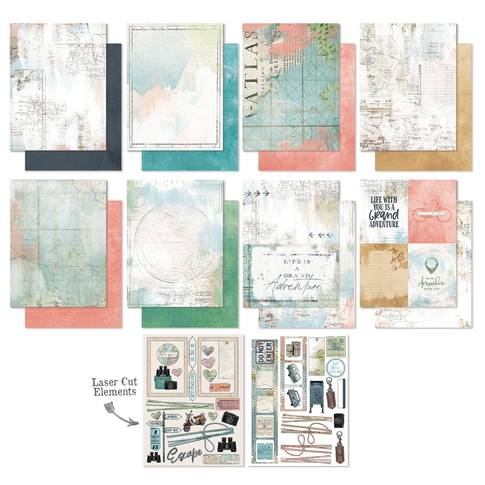 49 And Market Collection Pack 6X8-Vintage Artistry Anywhere