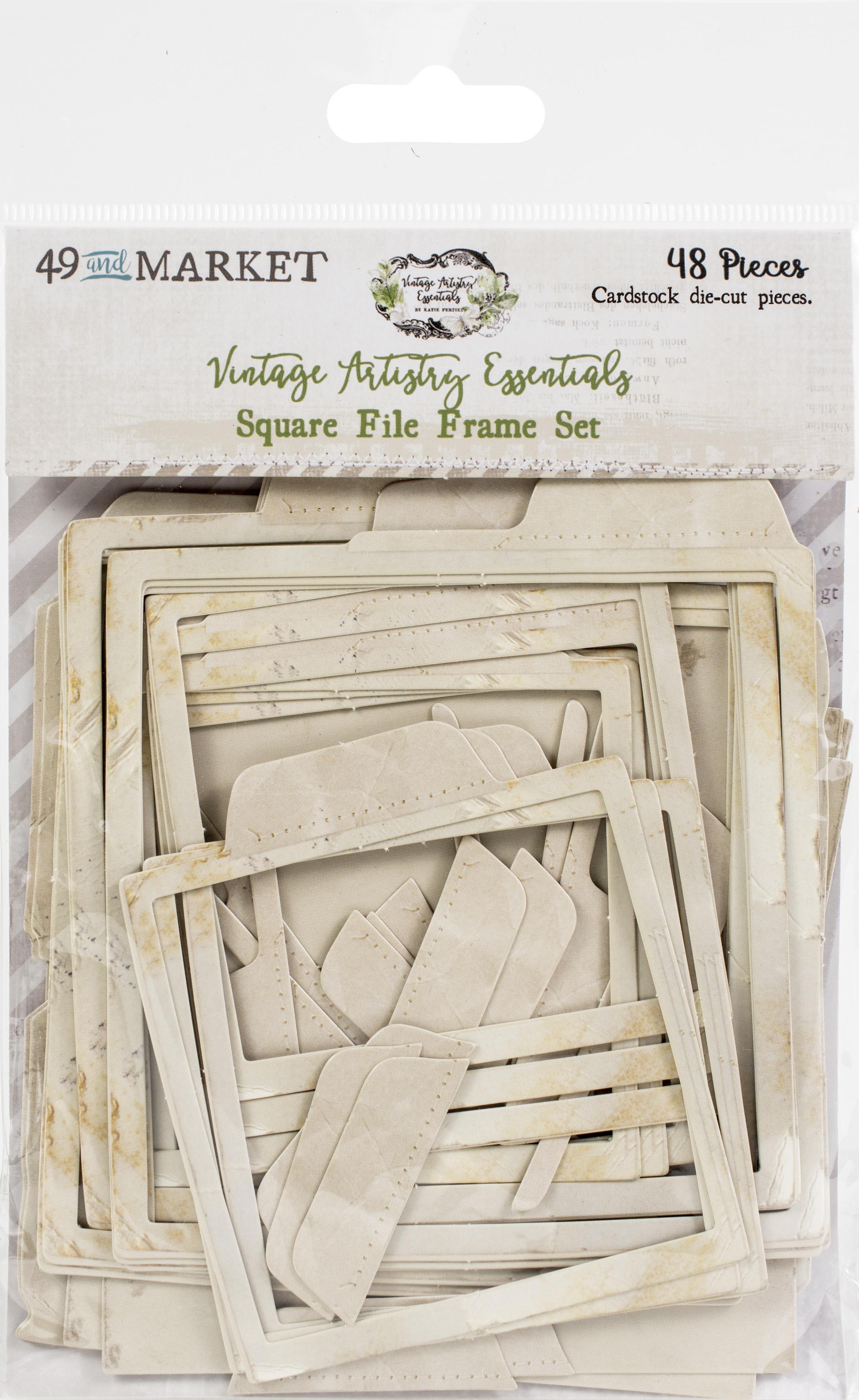 Vintage Artistry Essentials File Frame Set-Square