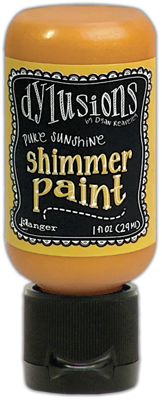 Dylusions Shimmer Paint 1oz-Pure Sunshine