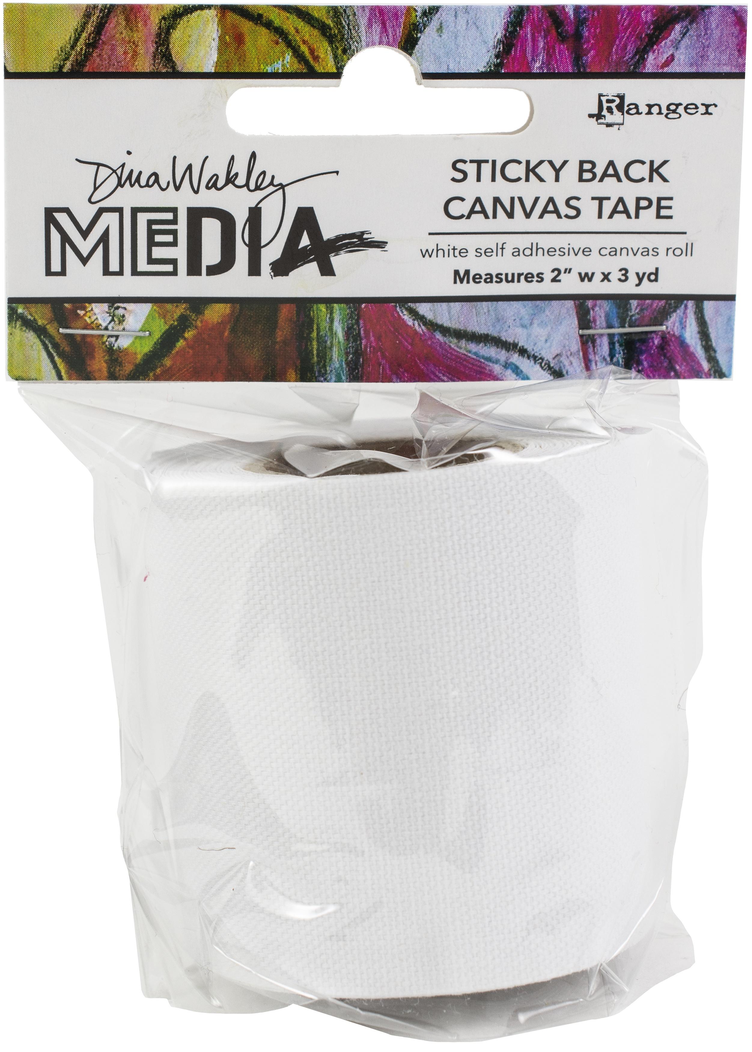 Dina Wakley Media Stickyback Canvas Tape 2