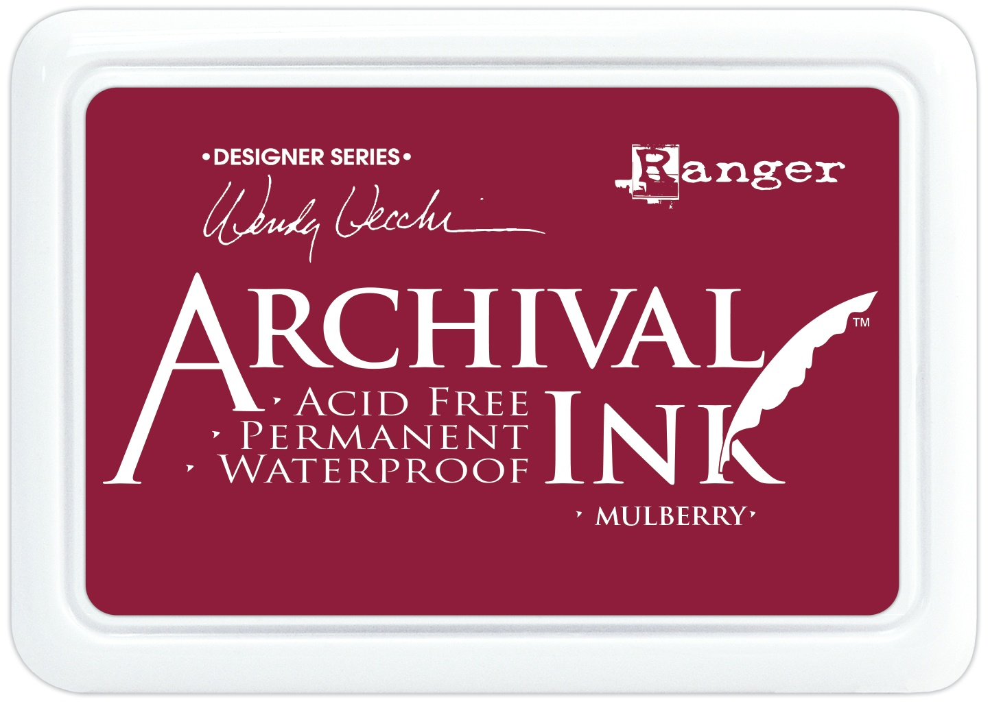 Wendy Vecchi Archival Ink Pad Mulberry