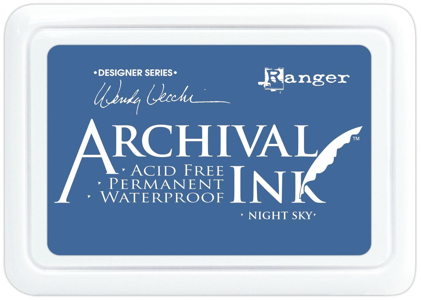 Wendy Vecchi Archival Ink Pad-Night Sky